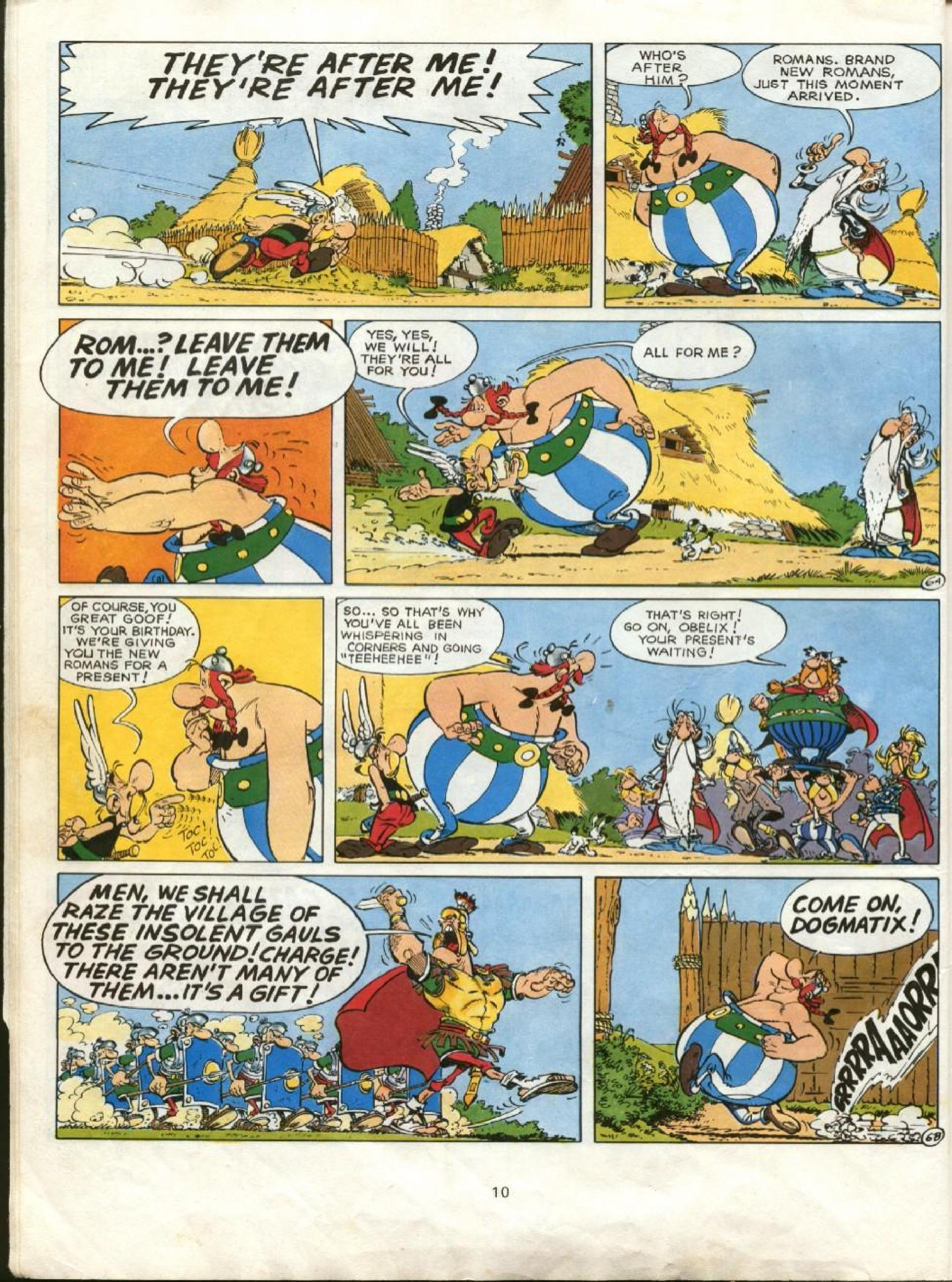 Read online Asterix comic -  Issue #23 - 7