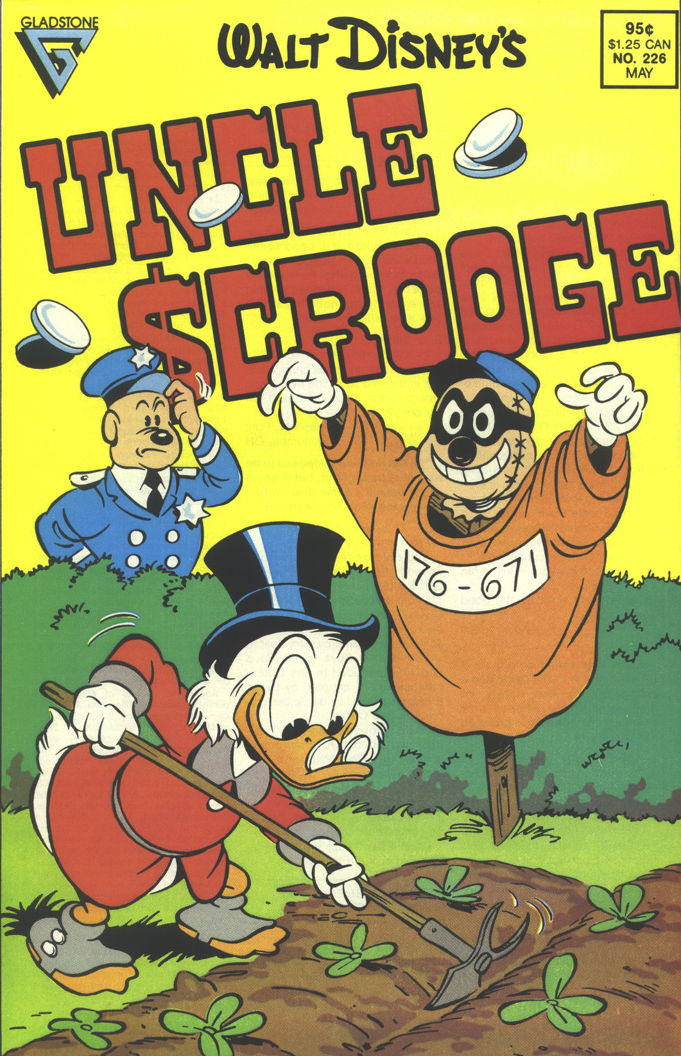 Read online Uncle Scrooge (1953) comic -  Issue #226 - 1