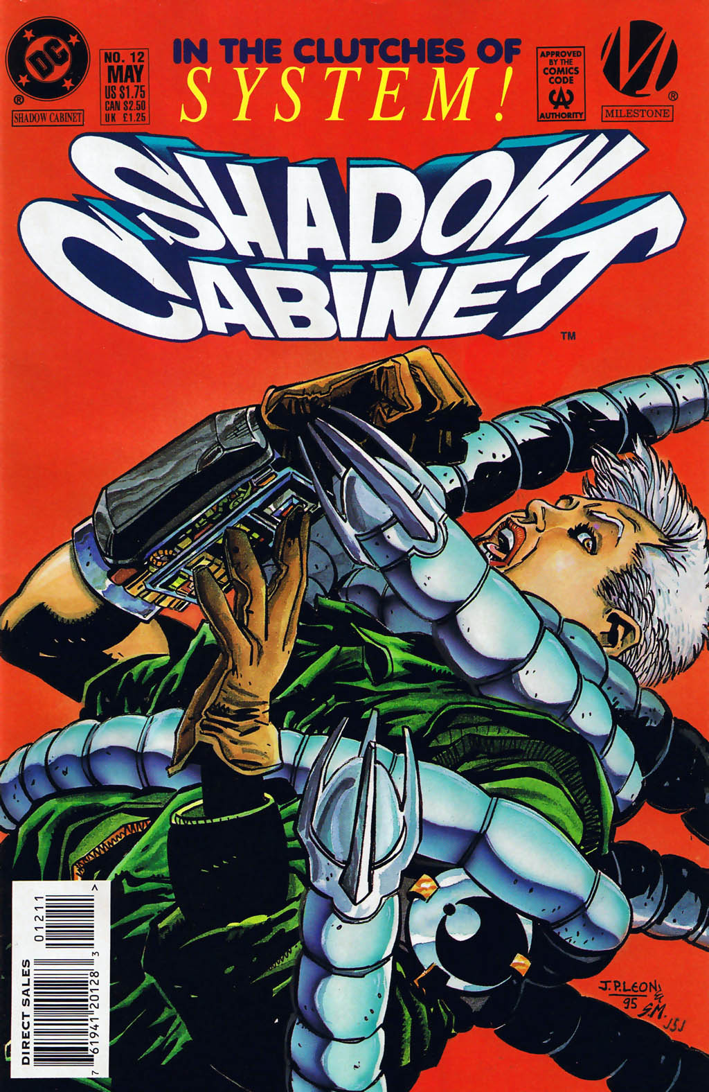 Read online Shadow Cabinet comic -  Issue #12 - 1