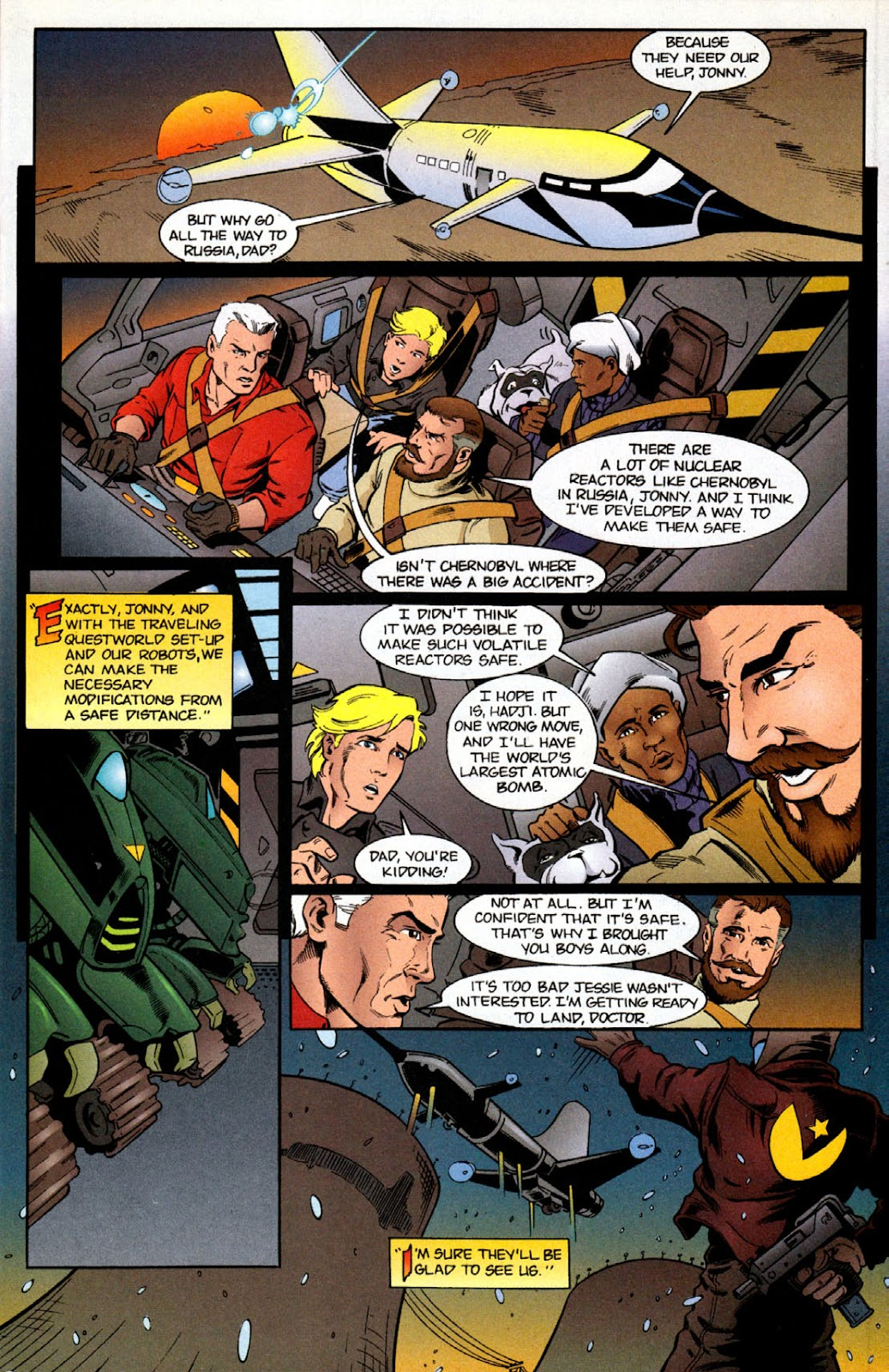 Read online The Real Adventures of Jonny Quest comic -  Issue #6 - 5