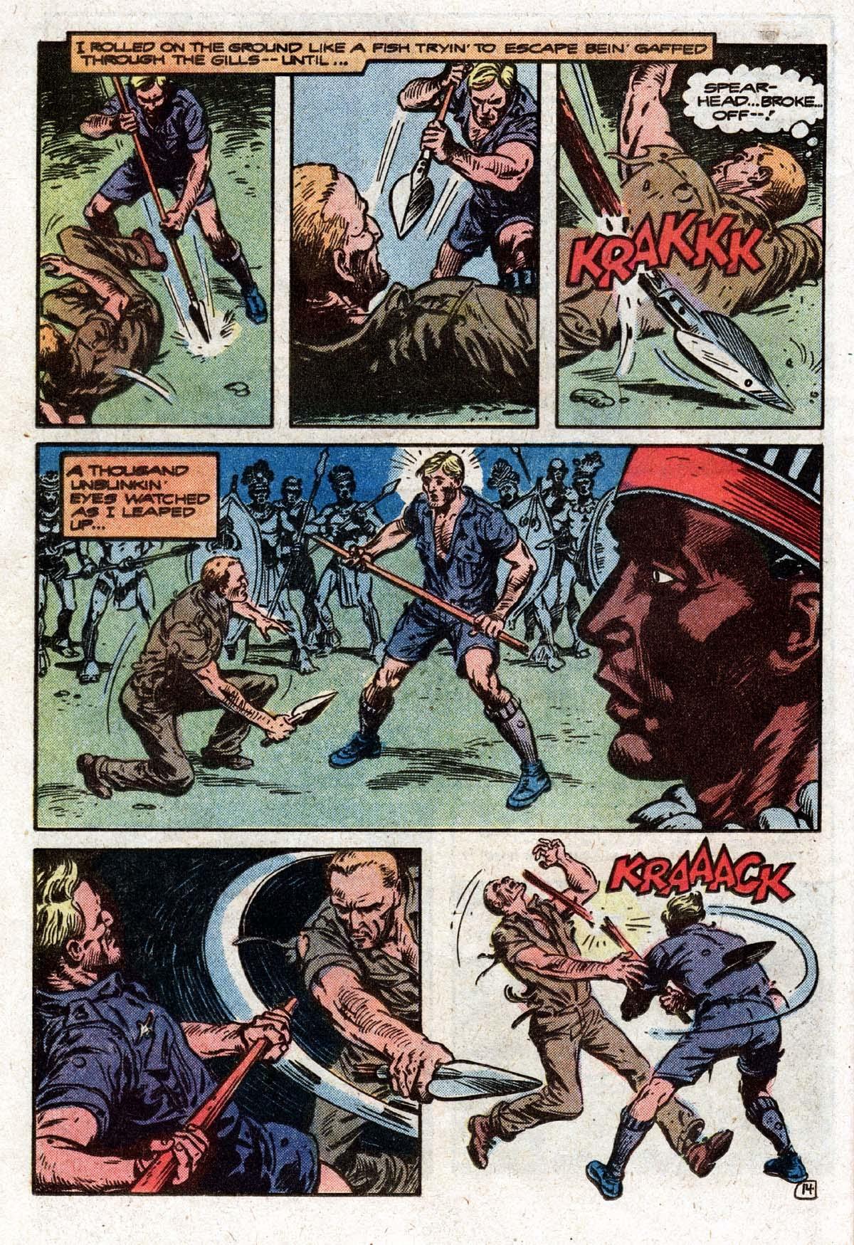 Read online Sgt. Rock comic -  Issue #319 - 17