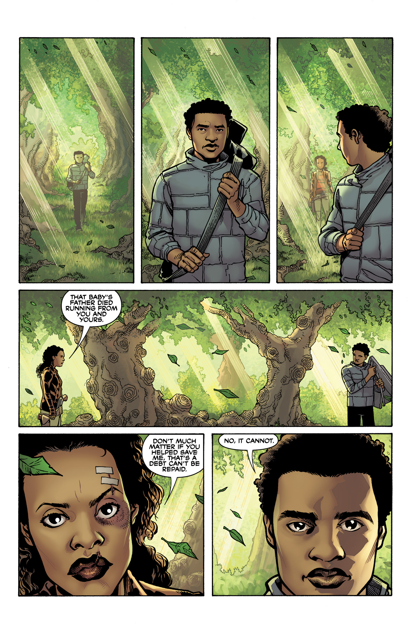 Read online Serenity: Firefly Class 03-K64  Leaves on the Wind comic -  Issue #6 - 22
