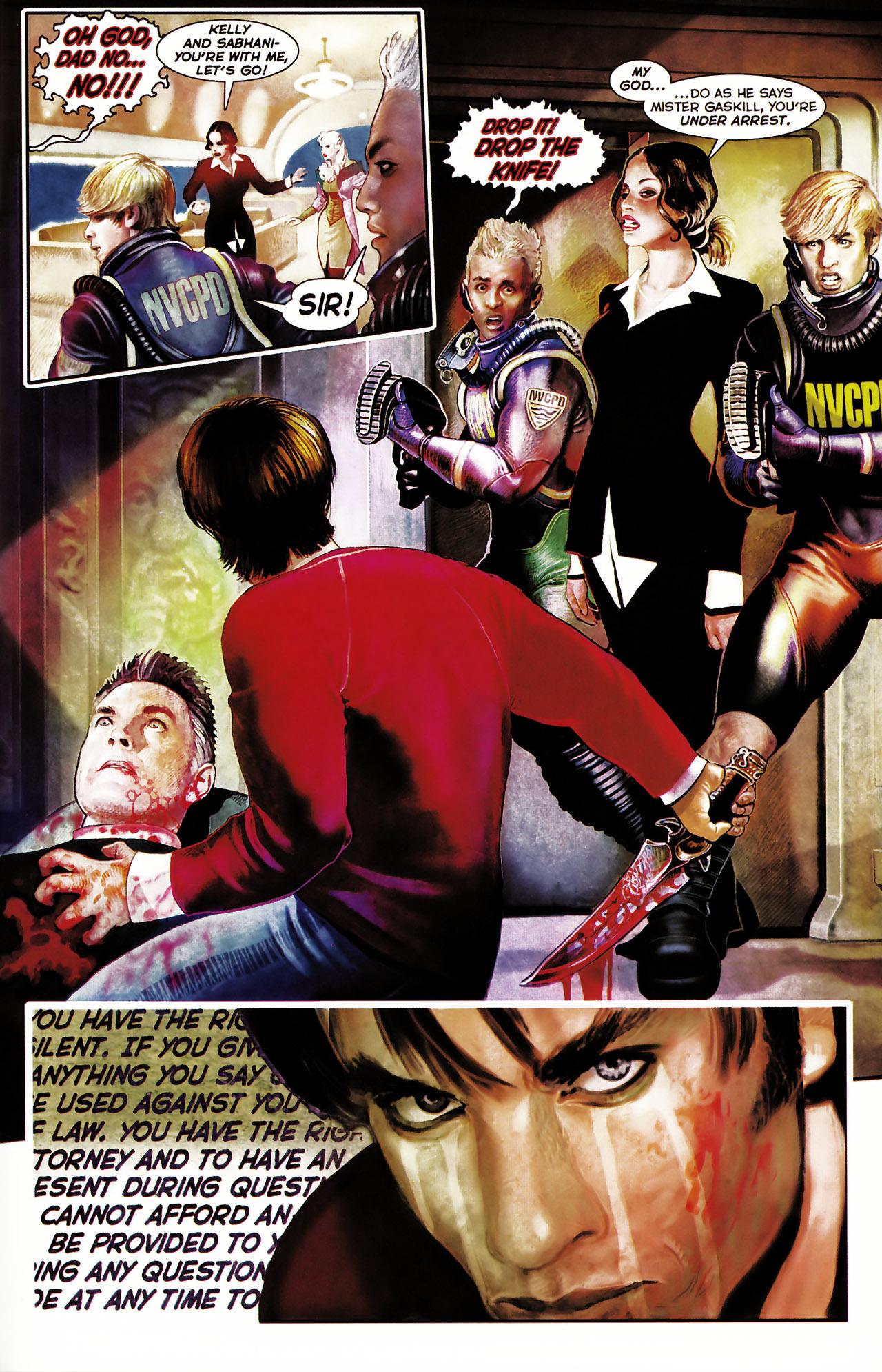 Read online Shark-Man comic -  Issue #1 - 30