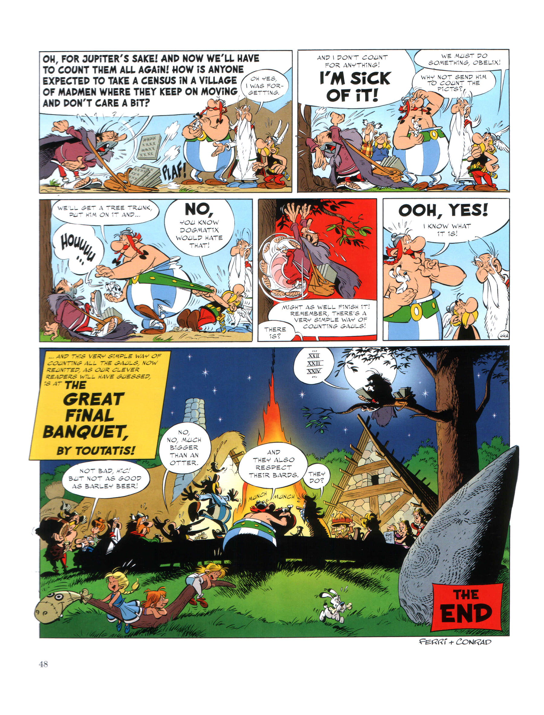 Read online Asterix comic -  Issue #35 - 49