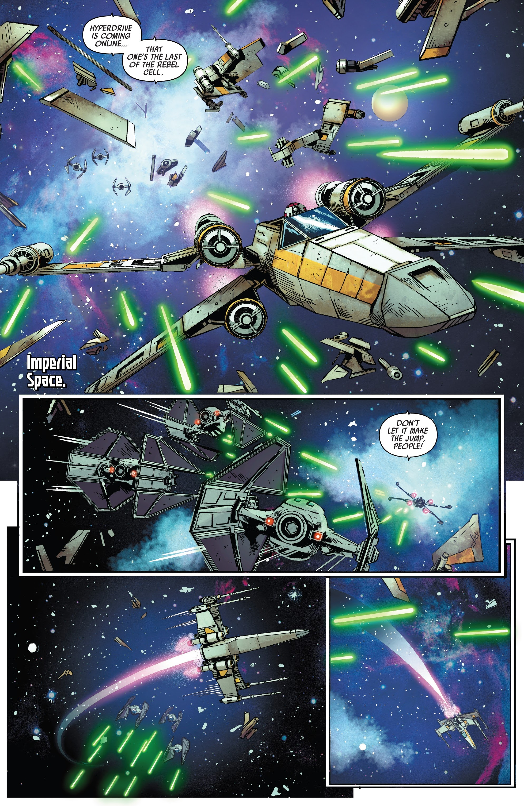 Star Wars: Tie Fighter 1 Page 2