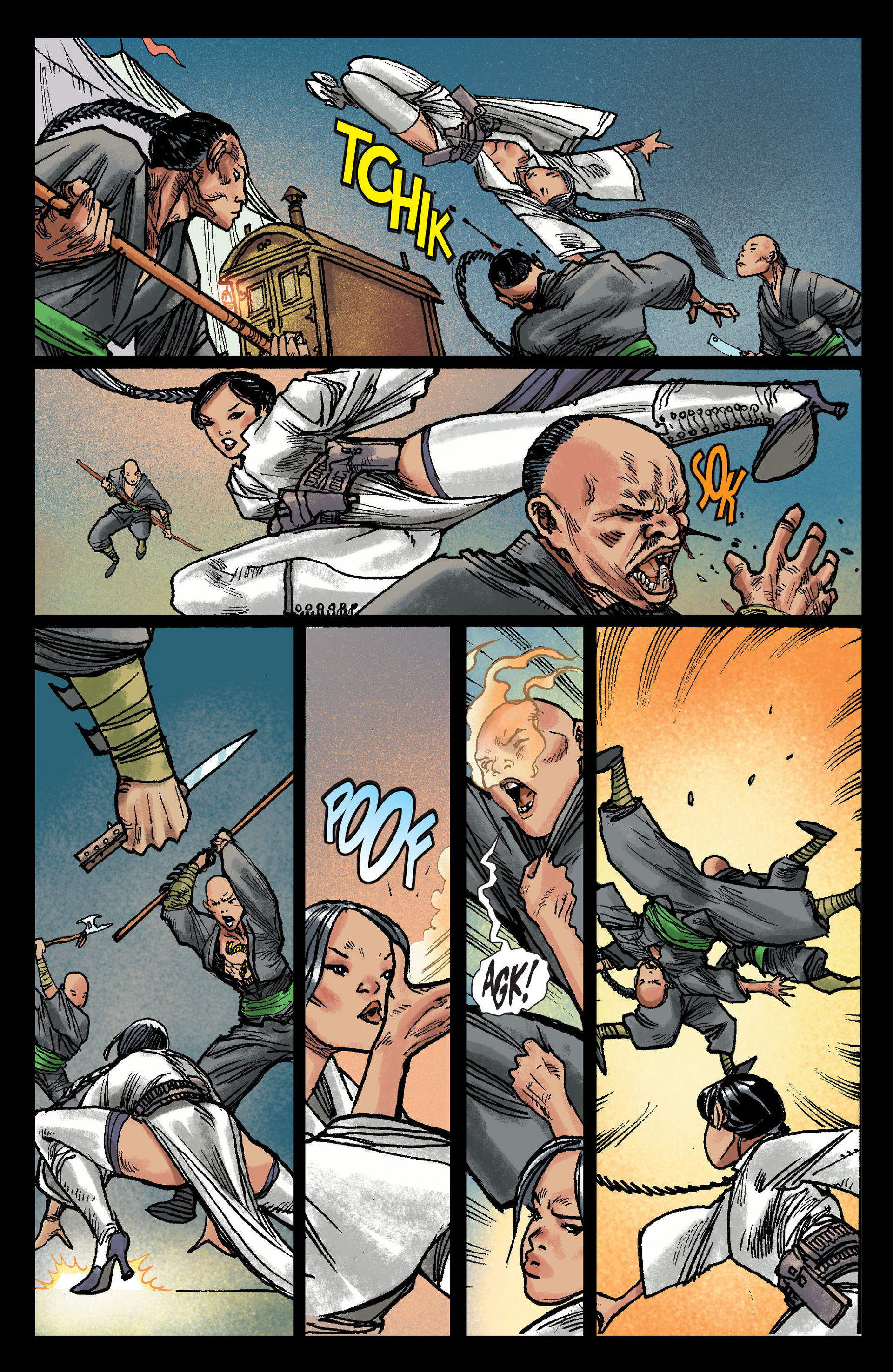 Read online All-Star Western (2011) comic -  Issue #13 - 10