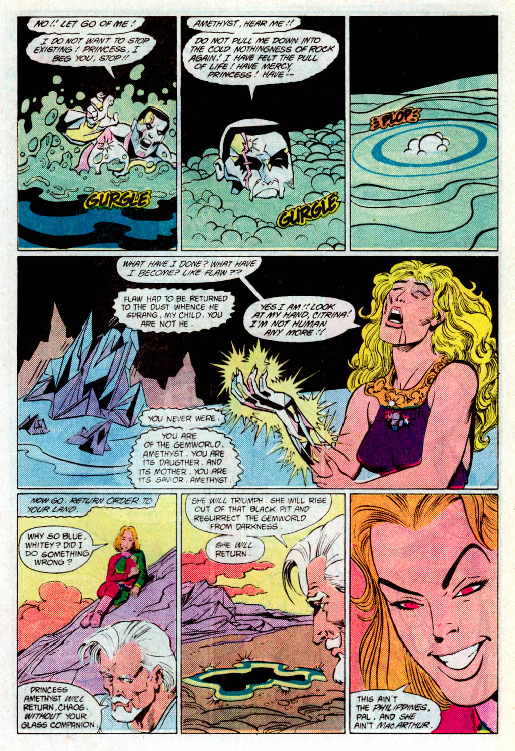 Read online Amethyst (1985) comic -  Issue # _Special 1 - 19
