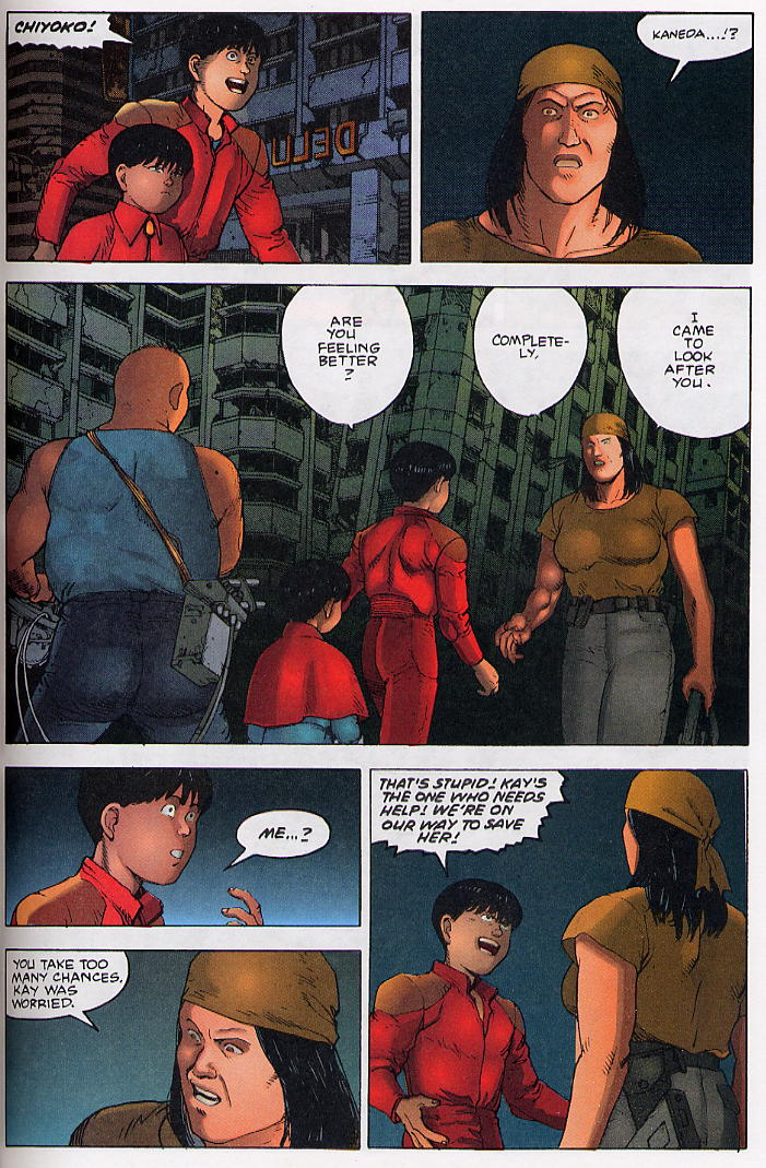 Read online Akira comic -  Issue #34 - 33