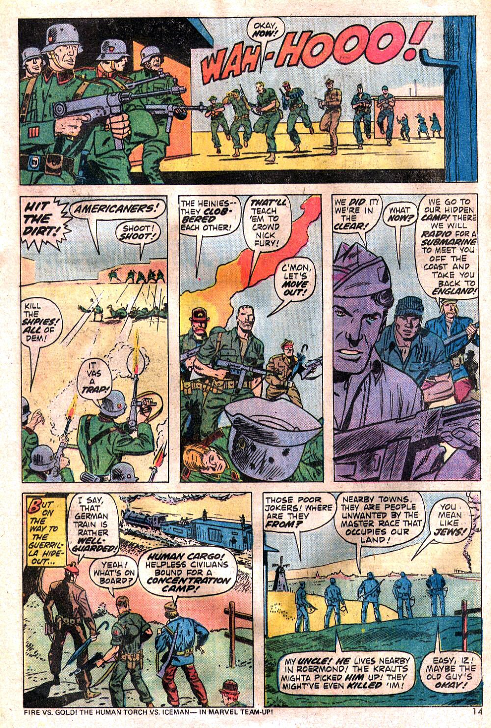 Read online Sgt. Fury comic -  Issue #120 - 16