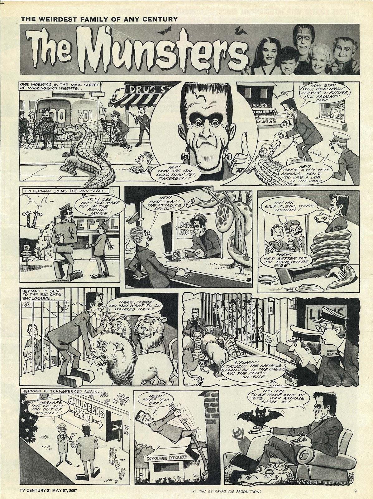 TV Century 21 (TV 21) issue 123 - Page 9
