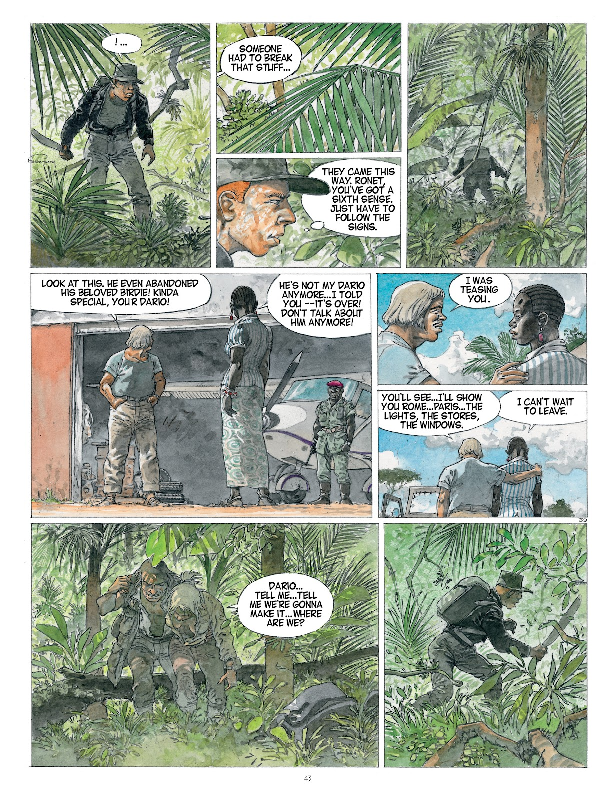 Read online Afrika comic -  Issue # TPB - 43