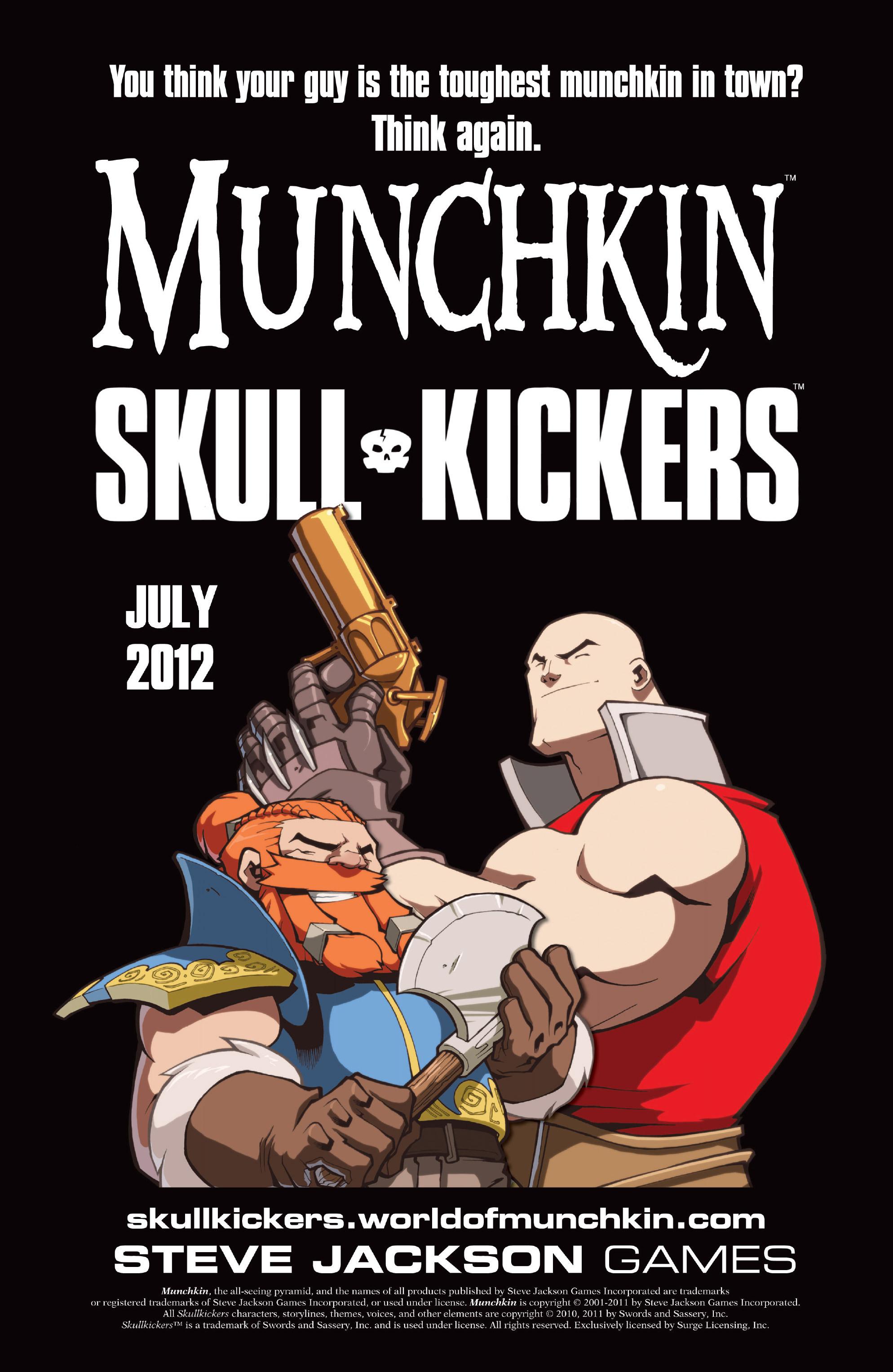 Read online Skullkickers comic -  Issue #16 - 26