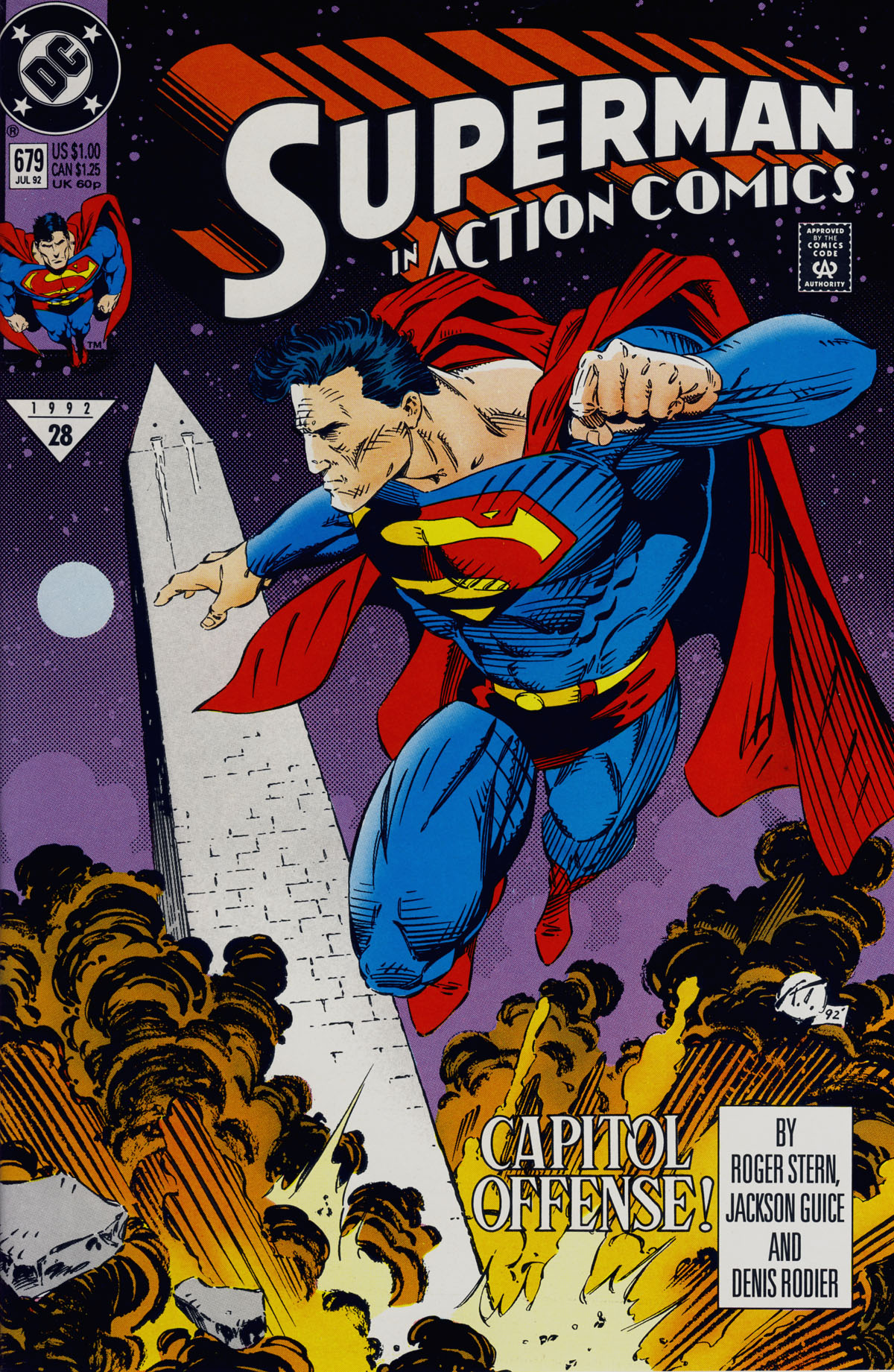 Read online Action Comics (1938) comic -  Issue #679 - 1
