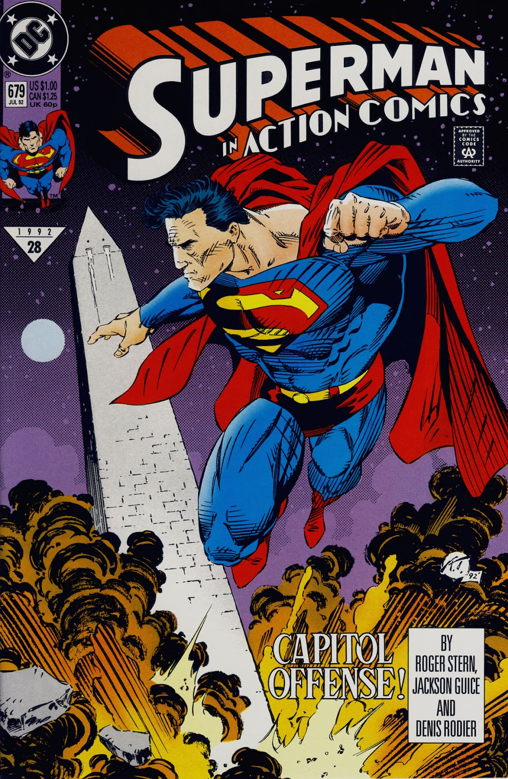 Action Comics (1938) 679 Page 1
