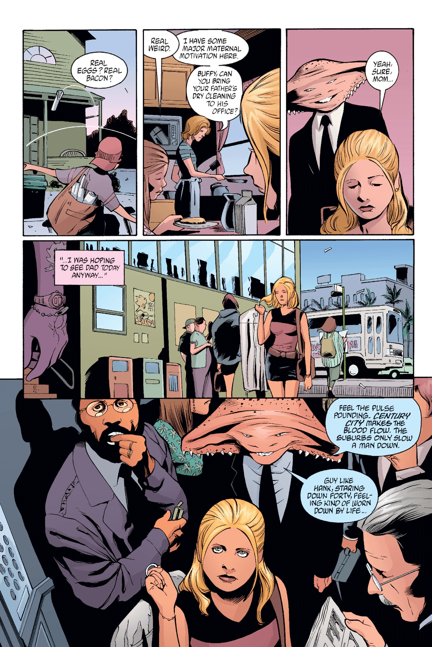 Read online Buffy the Vampire Slayer: Omnibus comic -  Issue # TPB 2 - 32