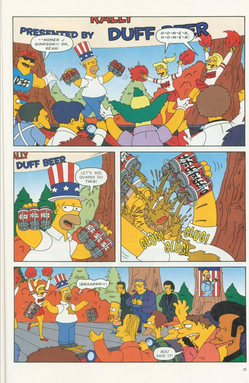 Read online Simpsons Comics comic -  Issue #58 - 16