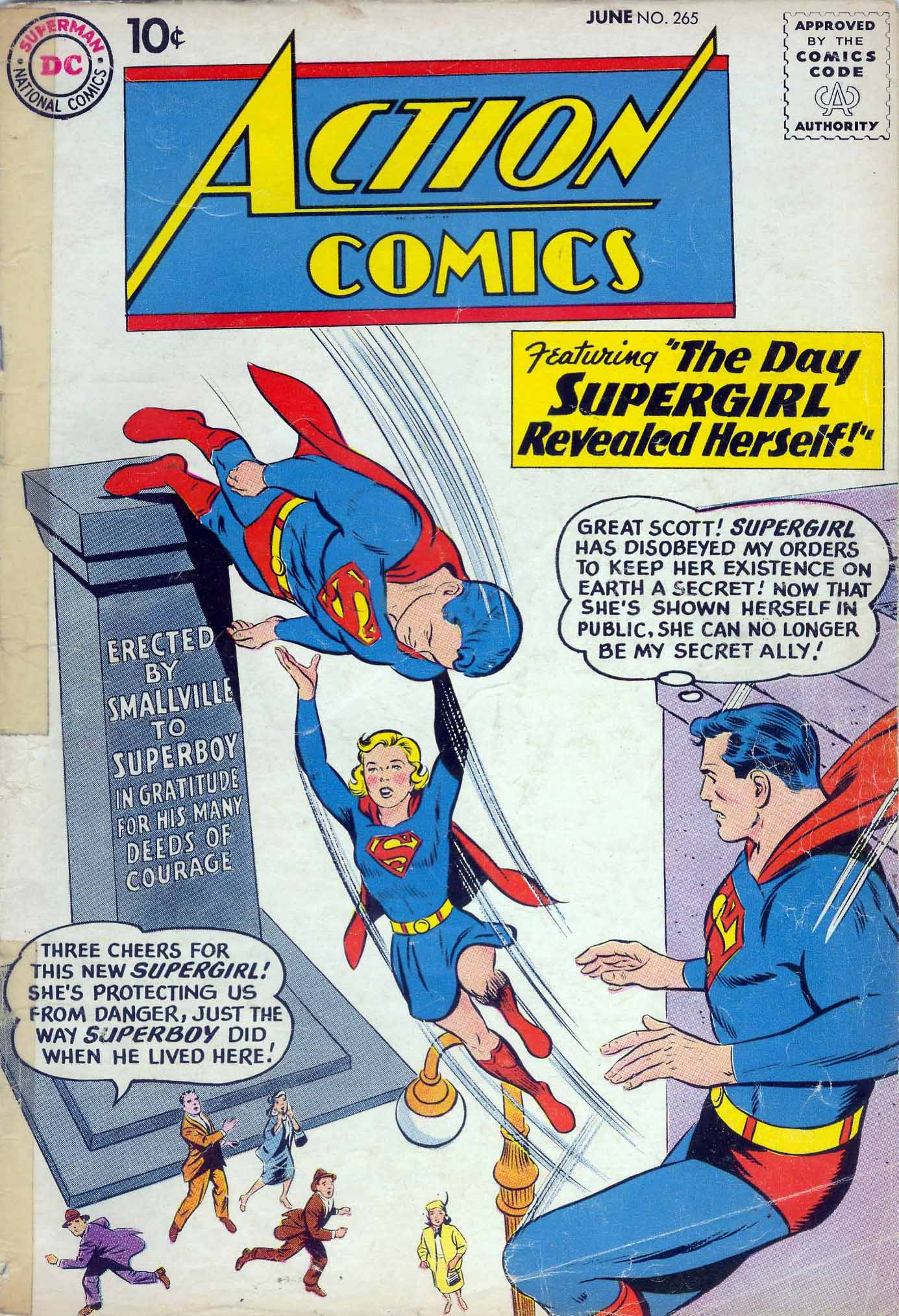 Read online Action Comics (1938) comic -  Issue #265 - 1