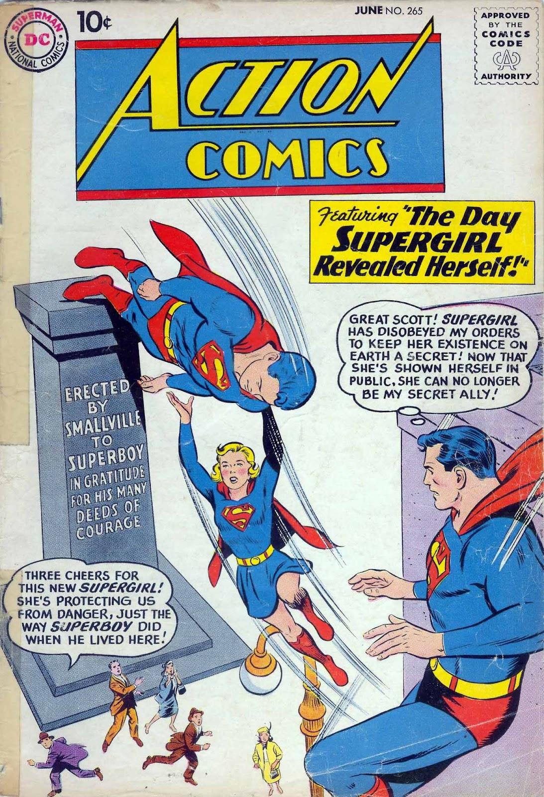 Action Comics (1938) 265 Page 1
