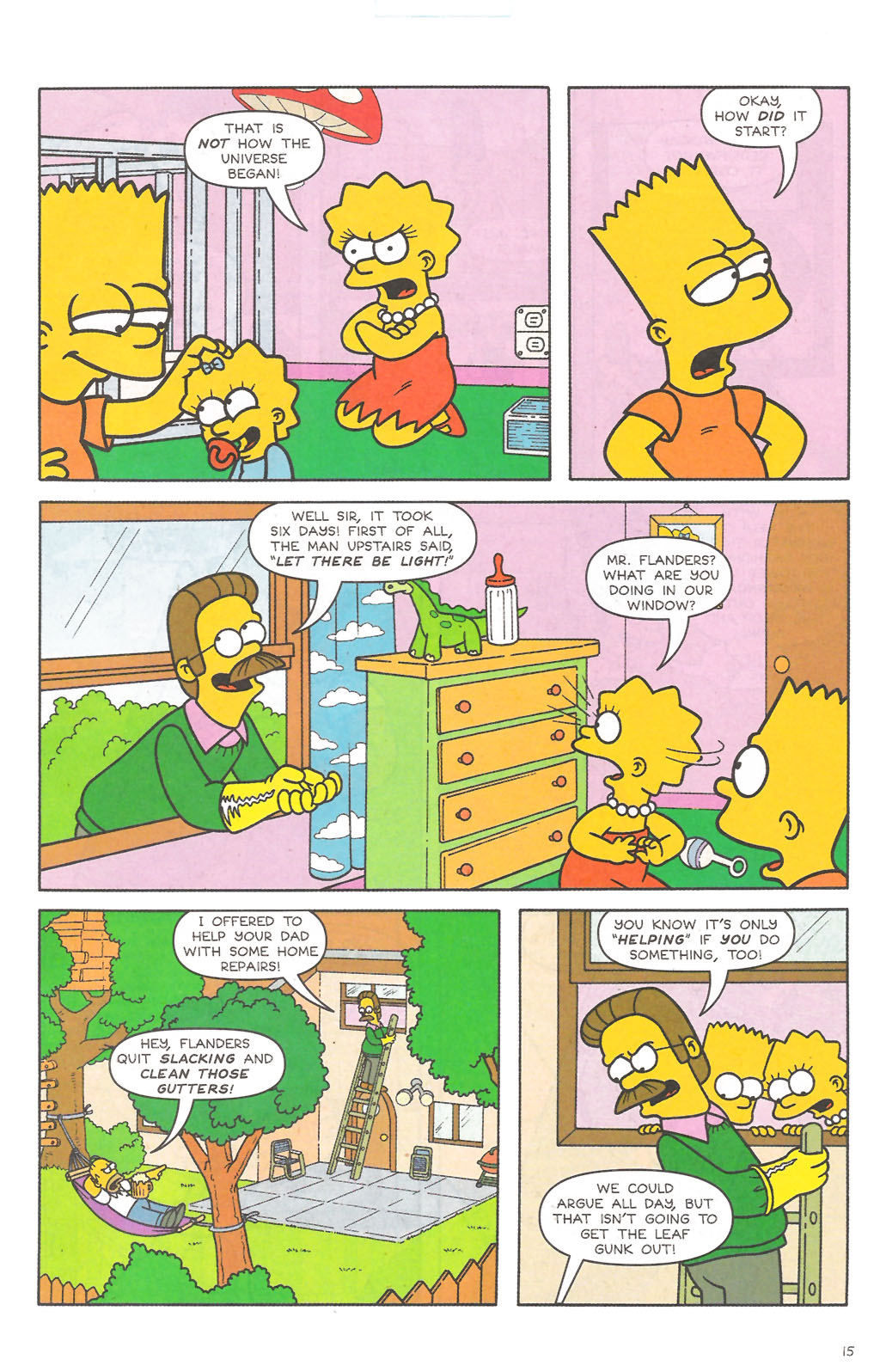 Read online Simpsons Comics comic -  Issue #111 - 16