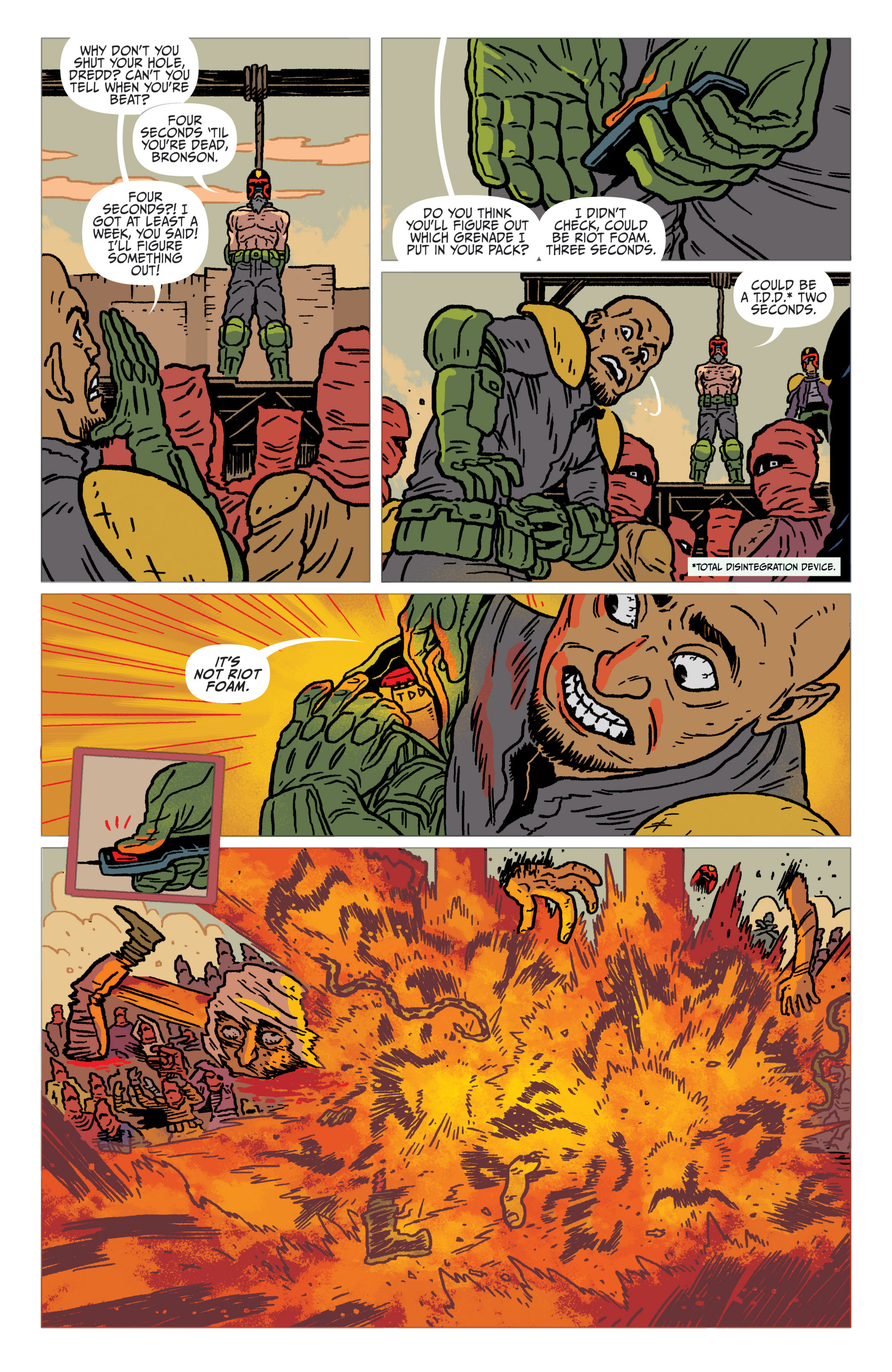 Read online Judge Dredd: The Blessed Earth comic -  Issue #1 - 18