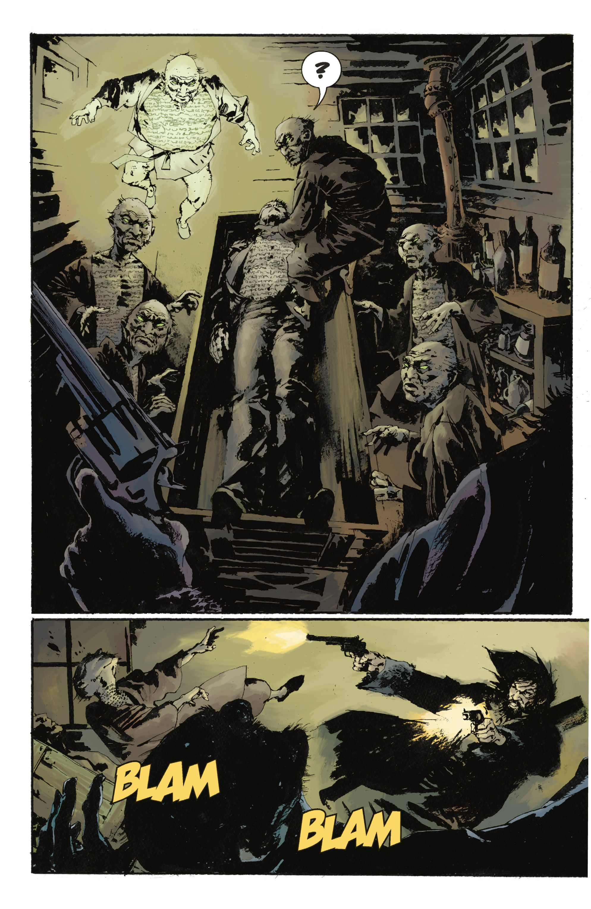 Read online Abe Sapien: The Drowning comic -  Issue #Abe Sapien: The Drowning _TPB - 12