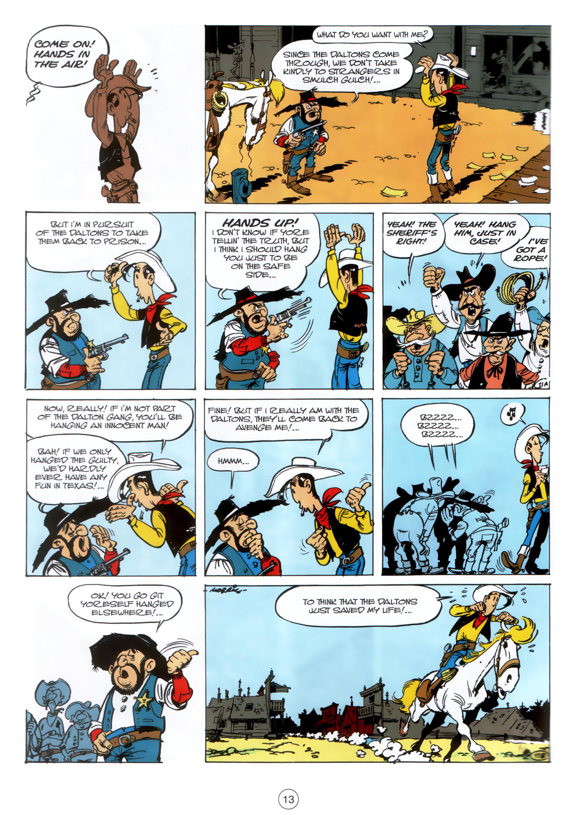 Read online A Lucky Luke Adventure comic -  Issue #30 - 12