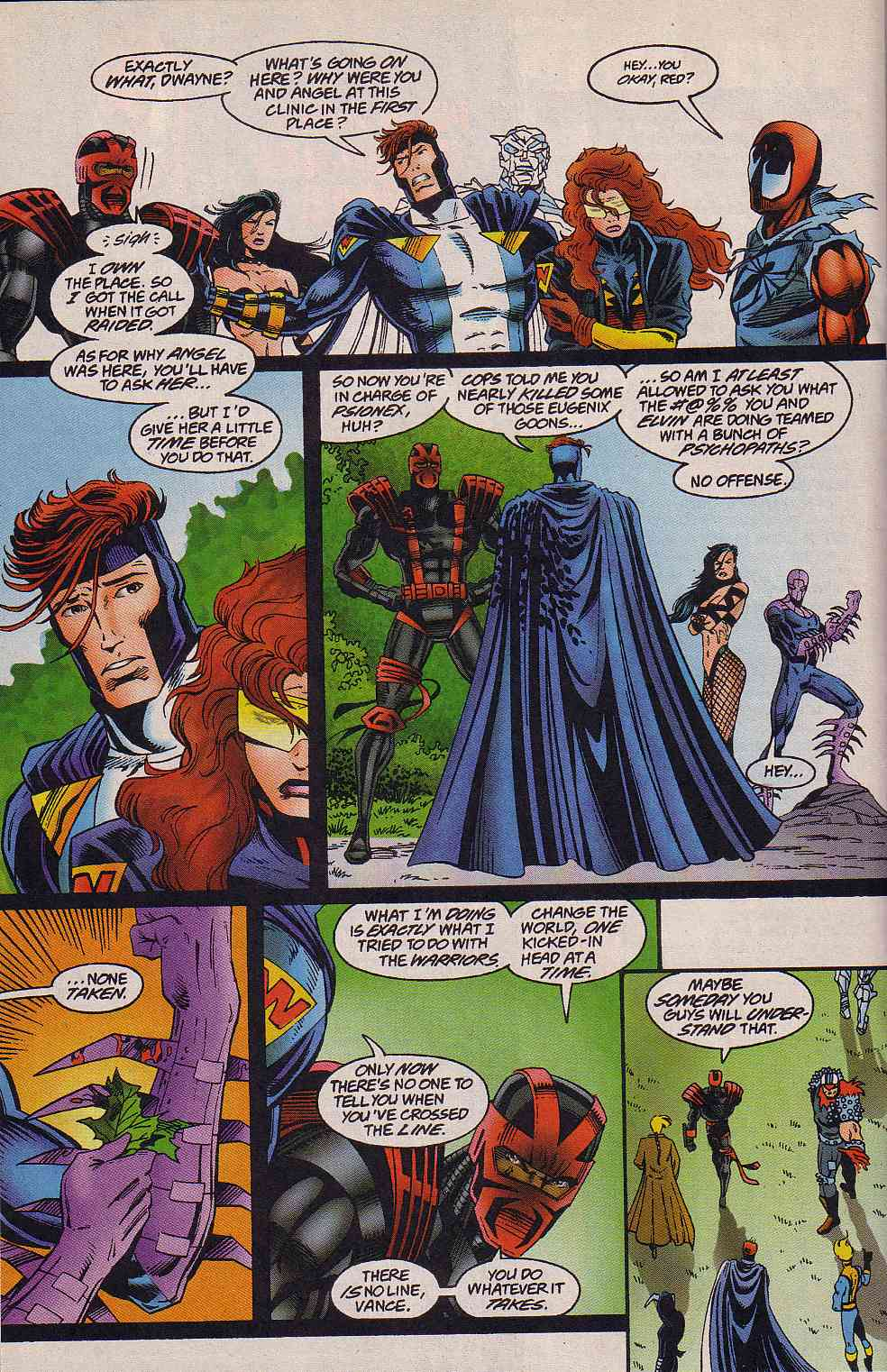 The New Warriors Issue #64 #68 - English 15