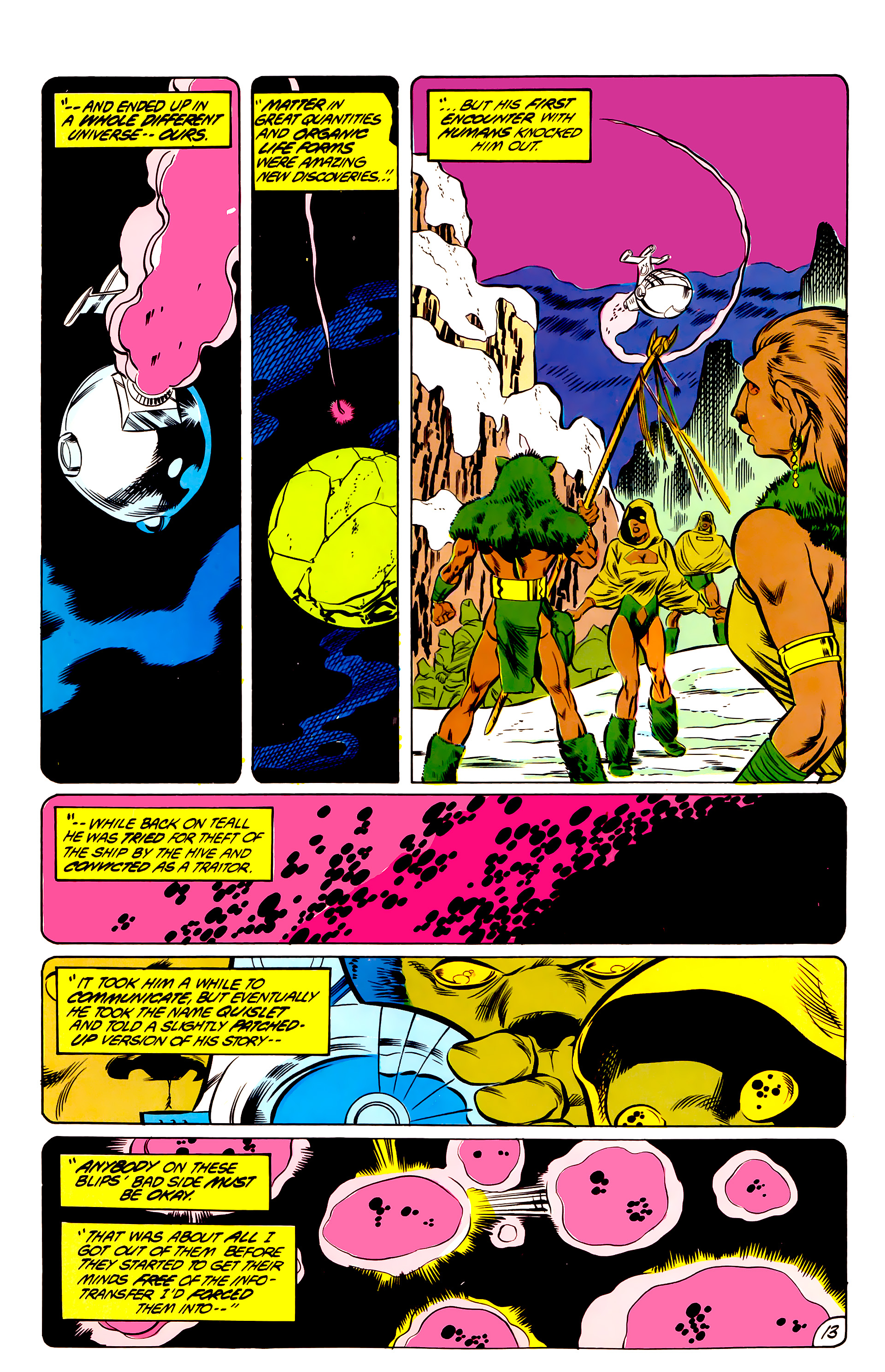 Legion of Super-Heroes (1984) 44 Page 13