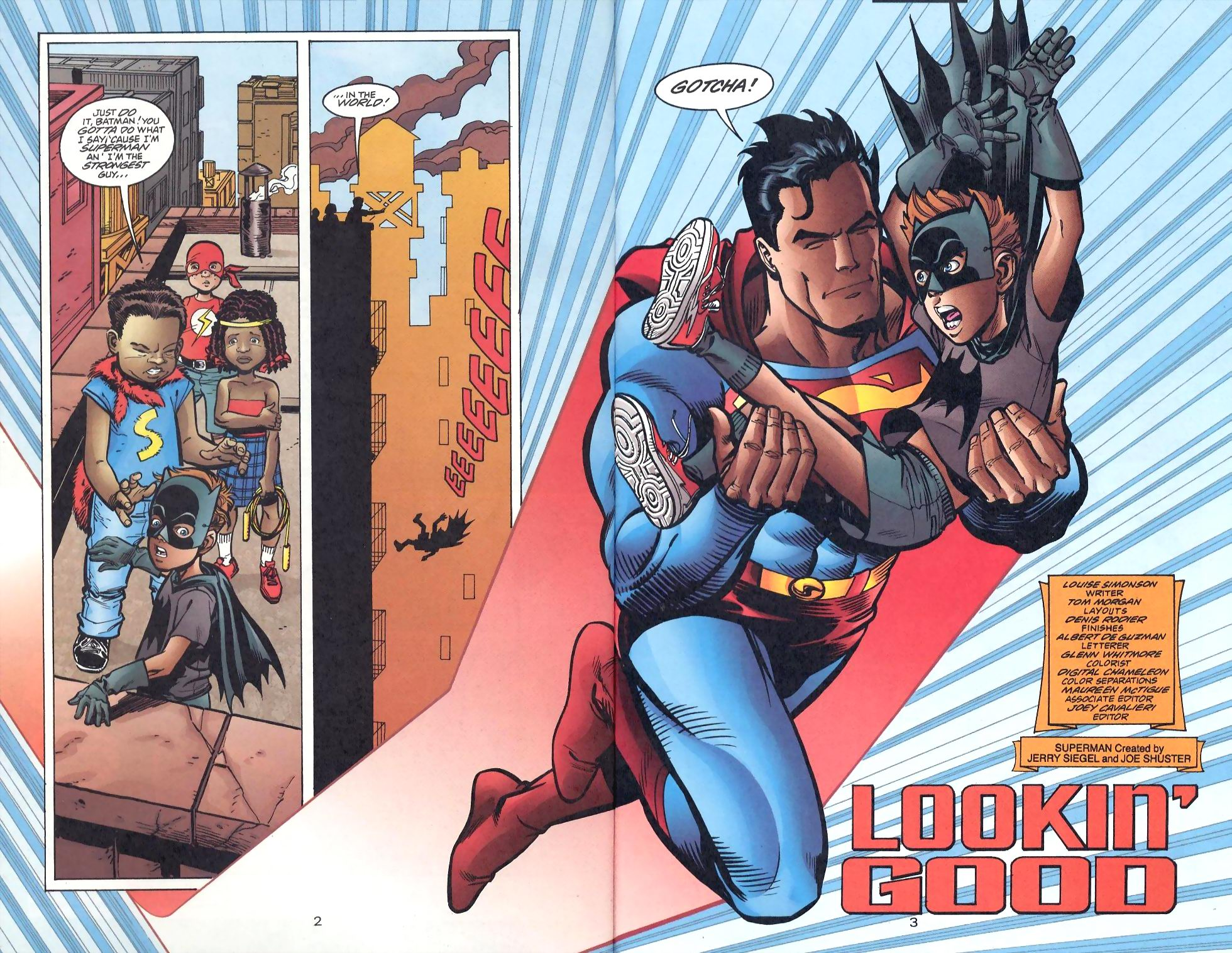 Read online Adventures of Superman (1987) comic -  Issue #568 - 3