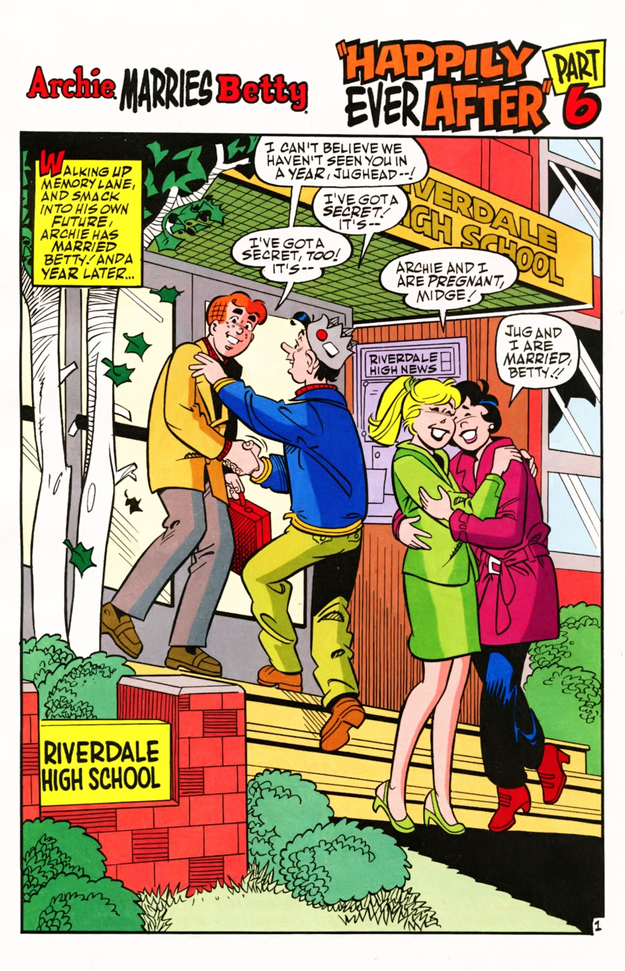 Read online Archie (1960) comic -  Issue #605 - 4