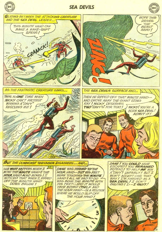Read online Sea Devils comic -  Issue #12 - 21