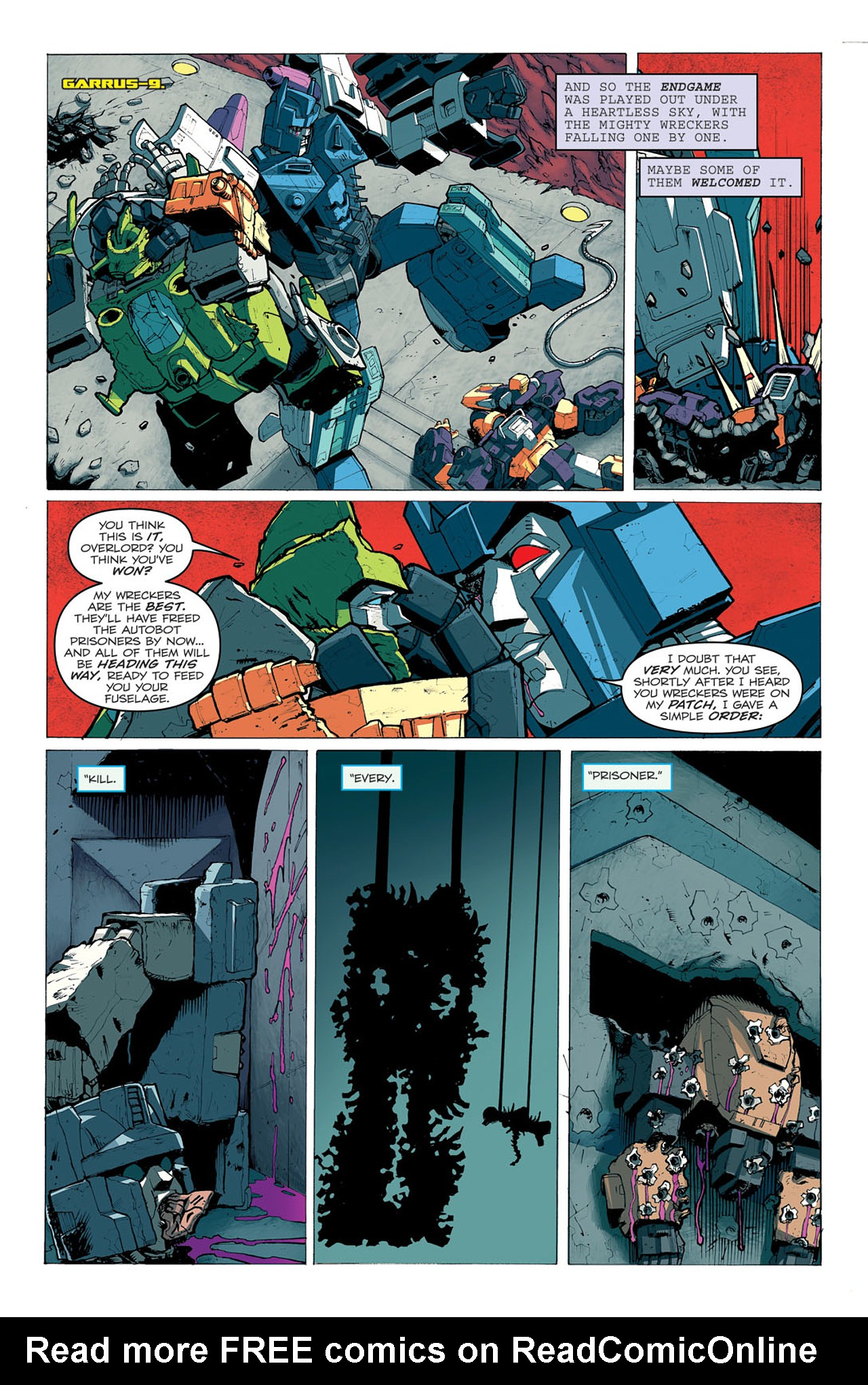 Read online Transformers: Last Stand of The Wreckers comic -  Issue #5 - 14
