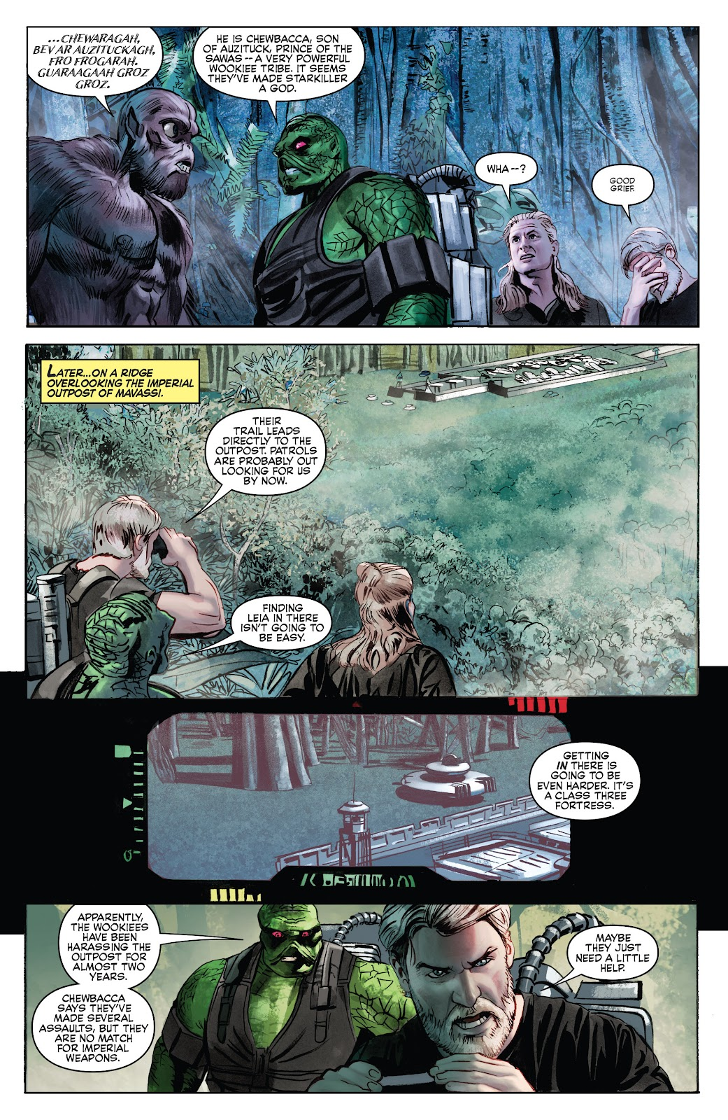 Read online Star Wars Legends: Infinities - Epic Collection comic -  Issue # TPB (Part 5) - 46