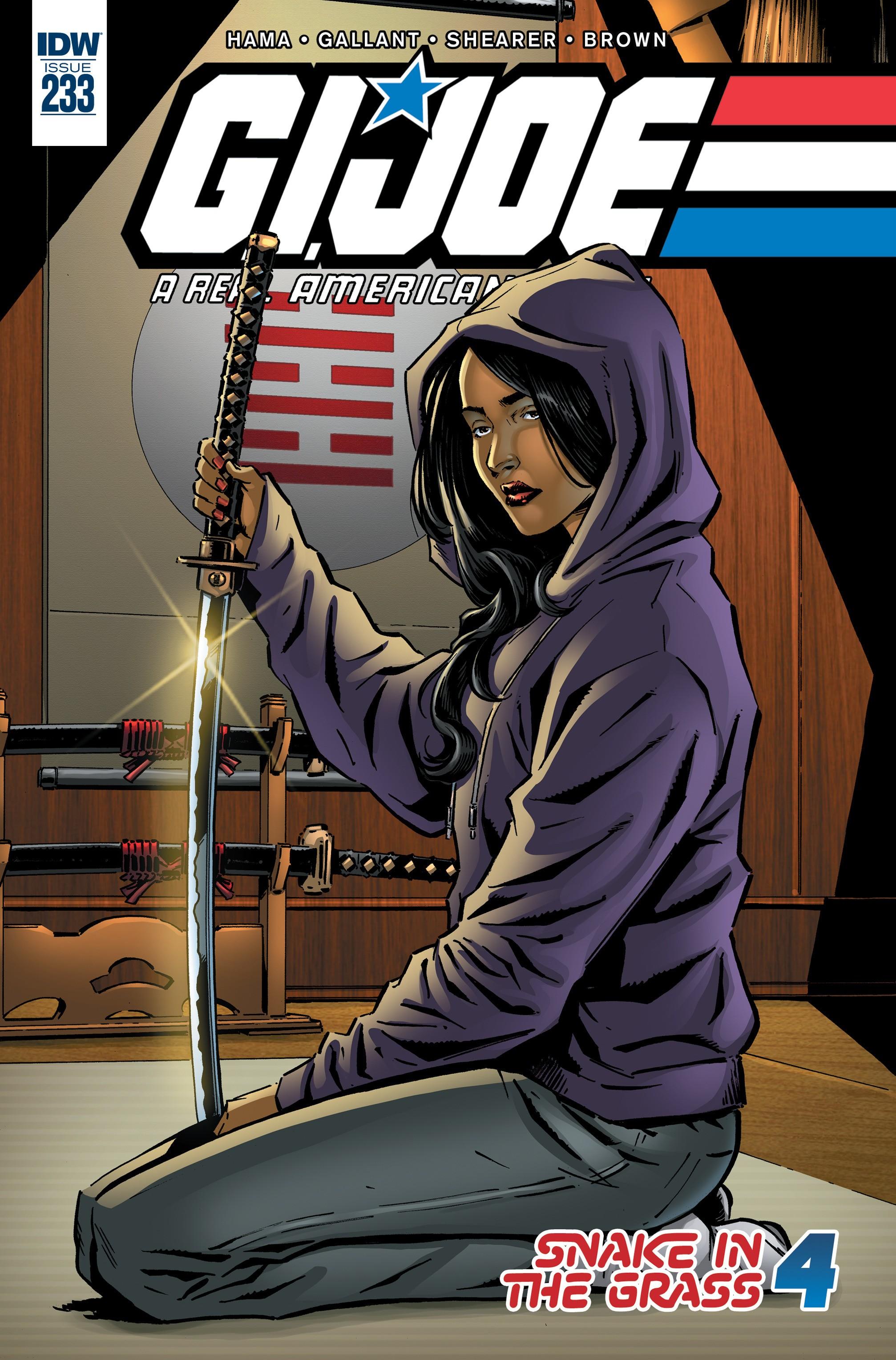 G.I. Joe: A Real American Hero 233 Page 1