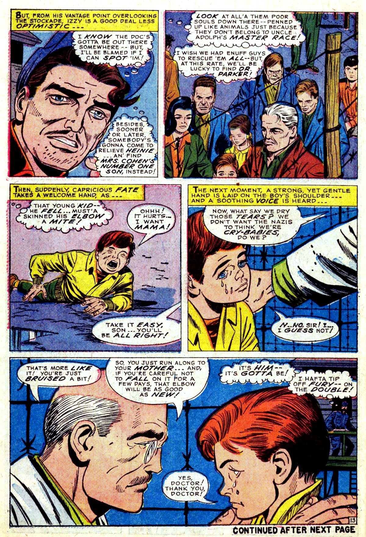 Read online Sgt. Fury comic -  Issue #38 - 18