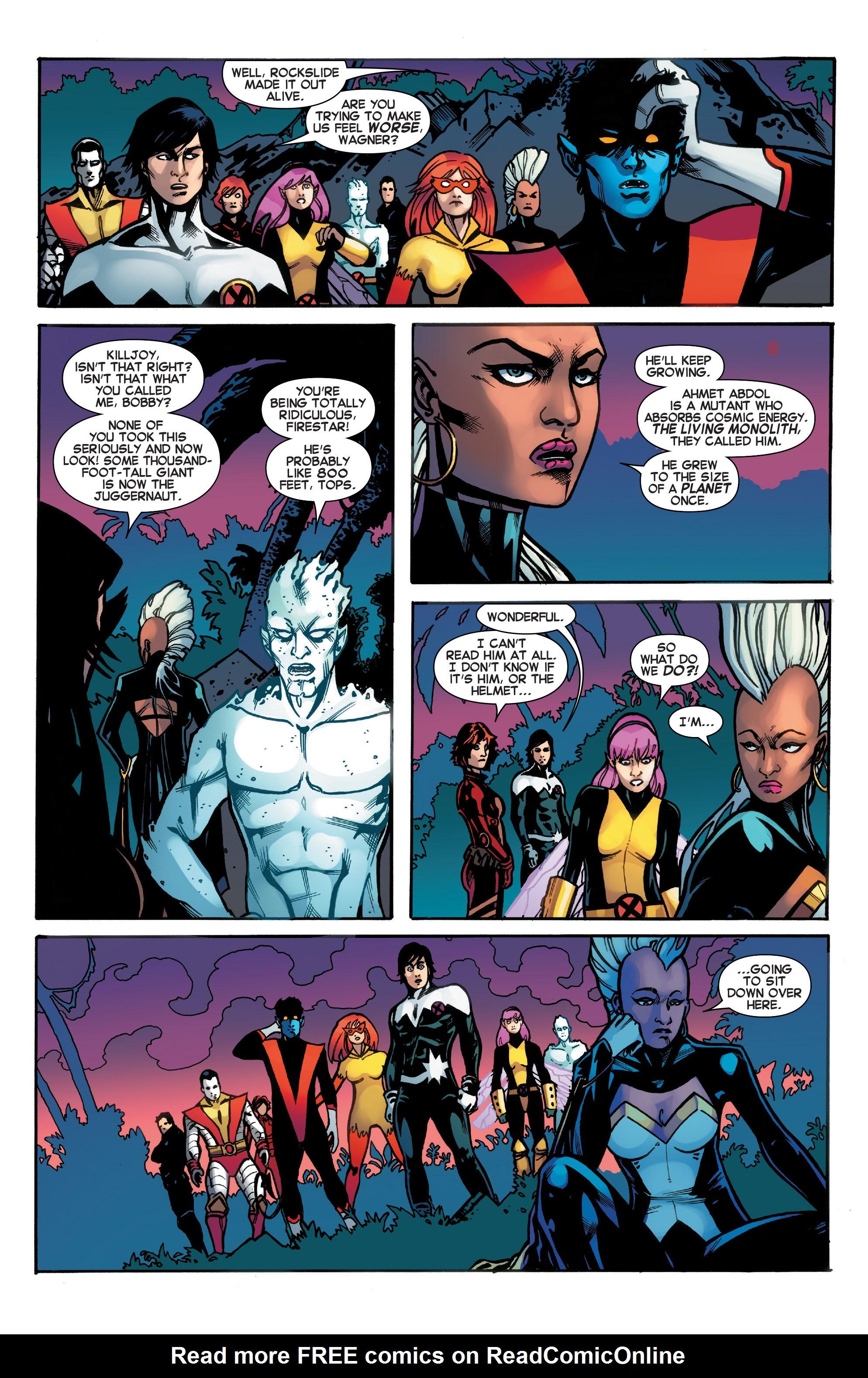 Read online Amazing X-Men (2014) comic -  Issue #18 - 6