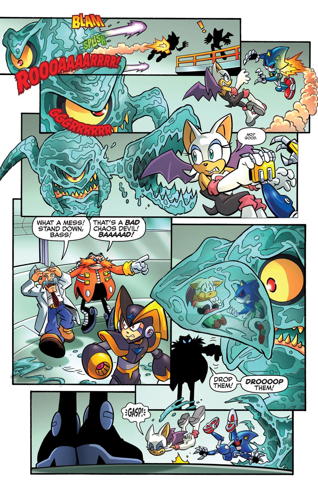 Read online Sonic Mega Man Worlds Collide comic -  Issue # Vol 2 - 102