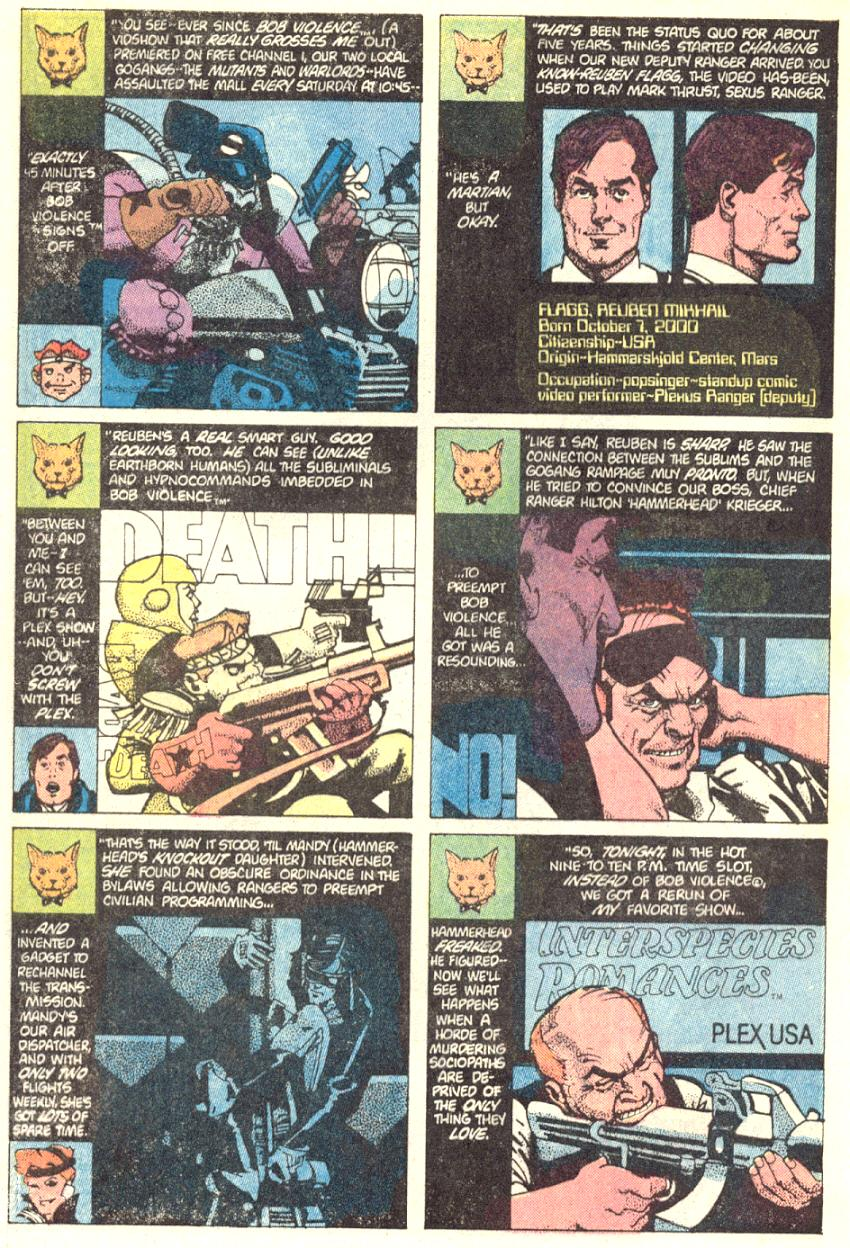 Read online American Flagg! comic -  Issue #2 - 3