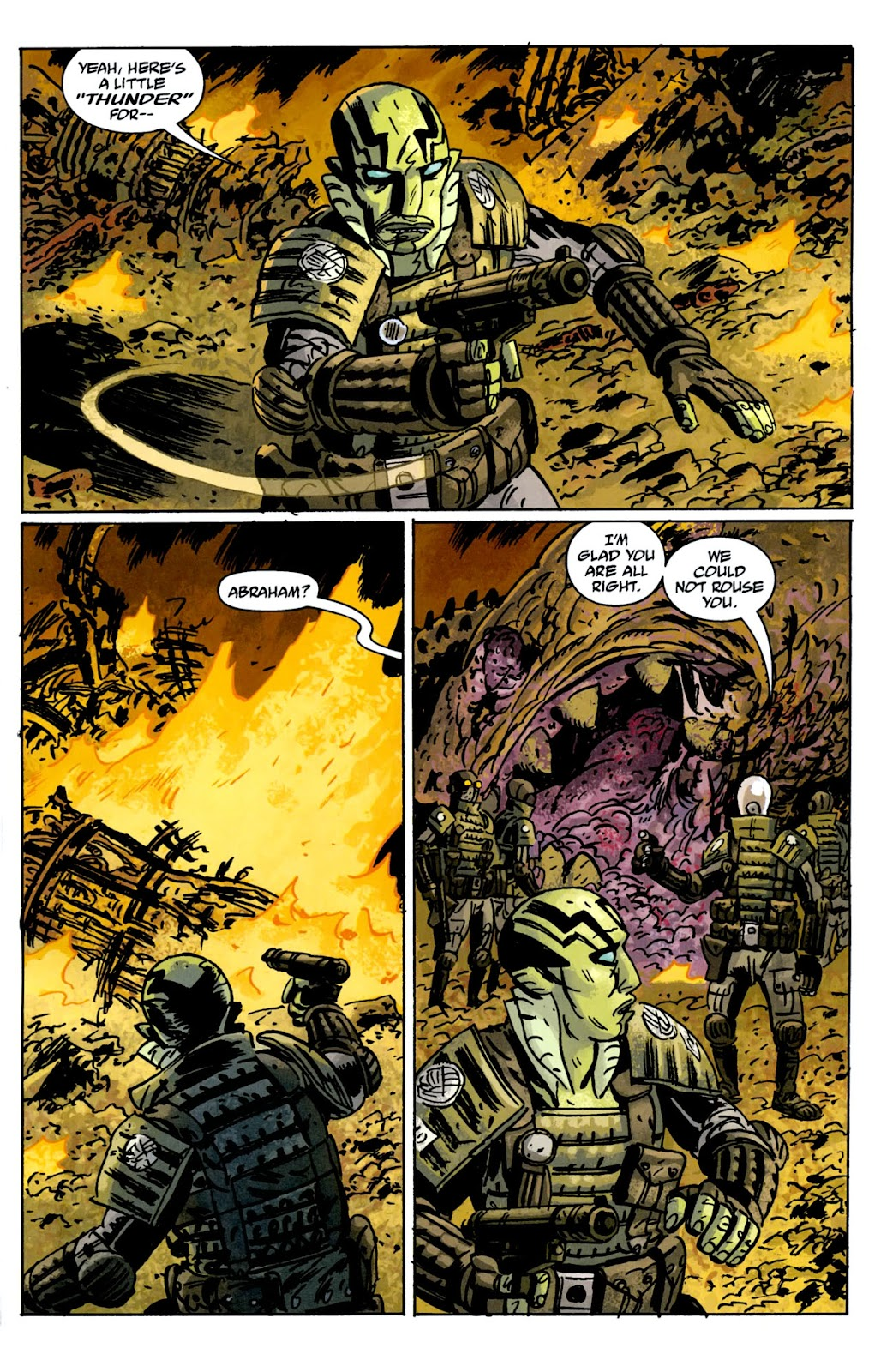 B.P.R.D.: The Warning issue 5 - Page 7