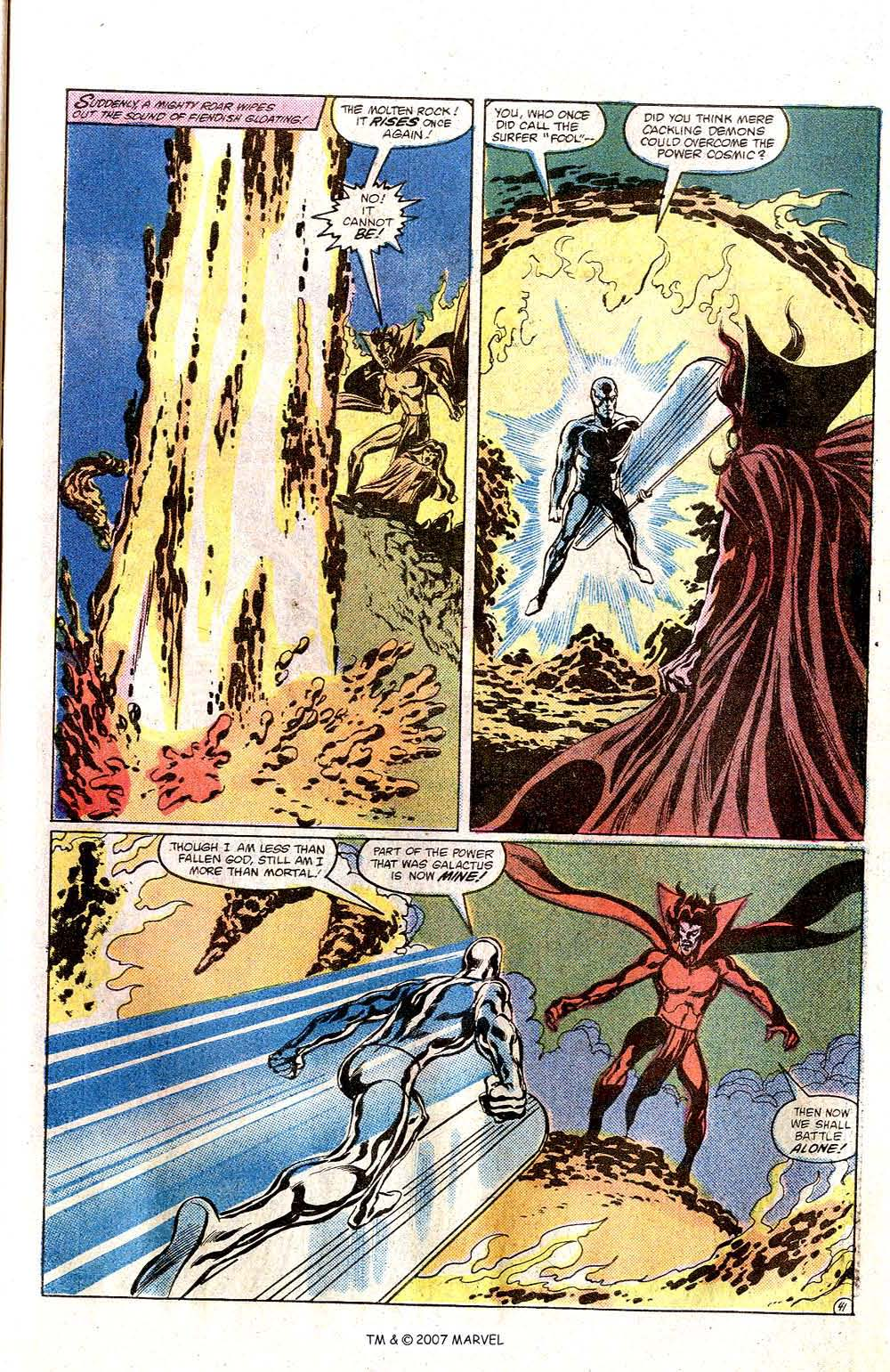 Read online Silver Surfer (1982) comic -  Issue # Full - 43