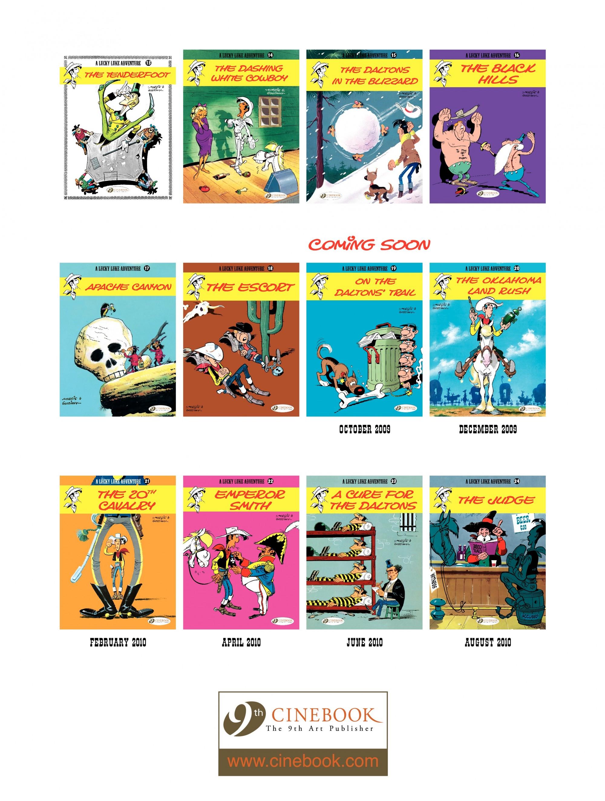 Read online A Lucky Luke Adventure comic -  Issue #18 - 48