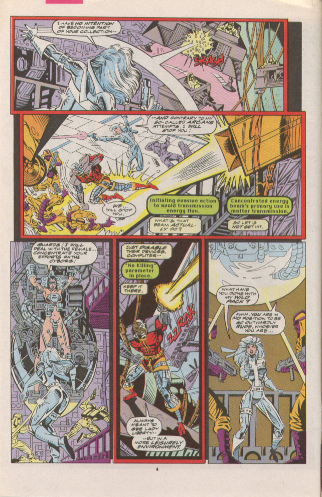 Read online Silver Sable and the Wild Pack comic -  Issue #7 - 5