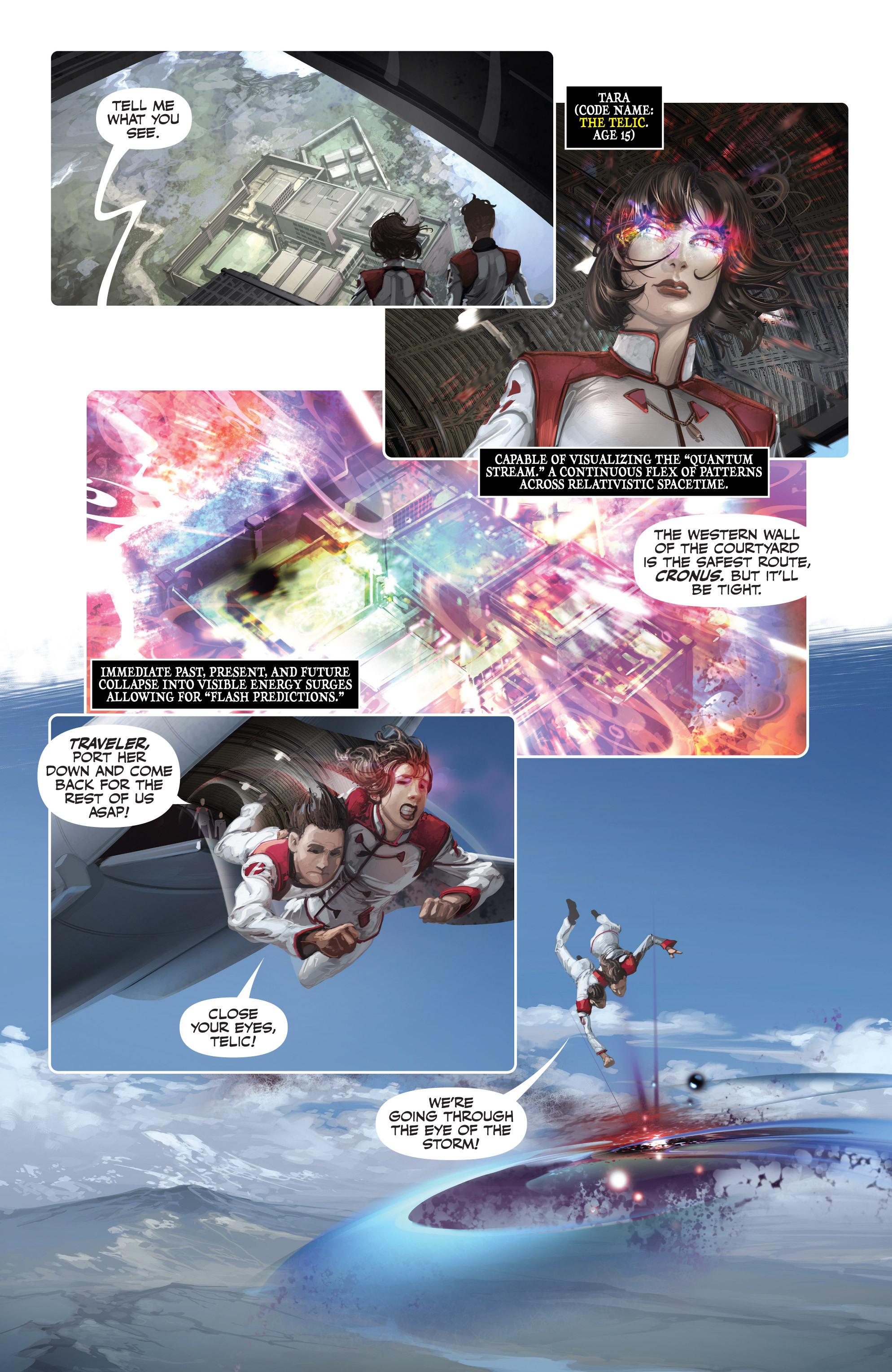 Read online Armor Hunters: Harbinger comic -  Issue # TPB - 81
