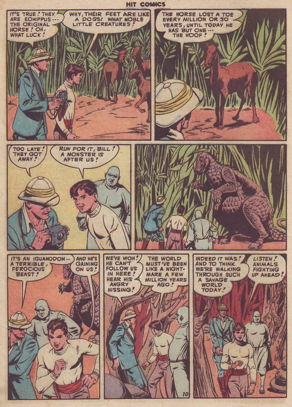 Read online Hit Comics comic -  Issue #51 - 12
