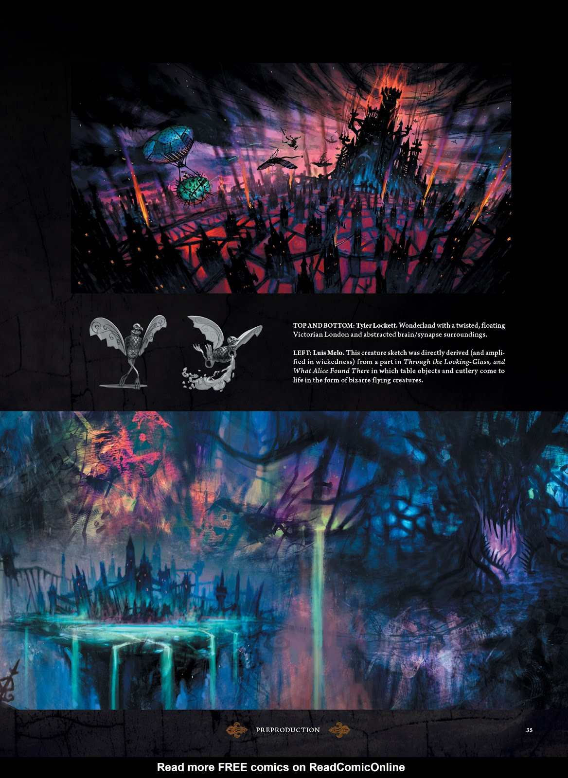 Read online The Art of Alice: Madness Returns comic -  Issue # TPB (Part 1) - 33
