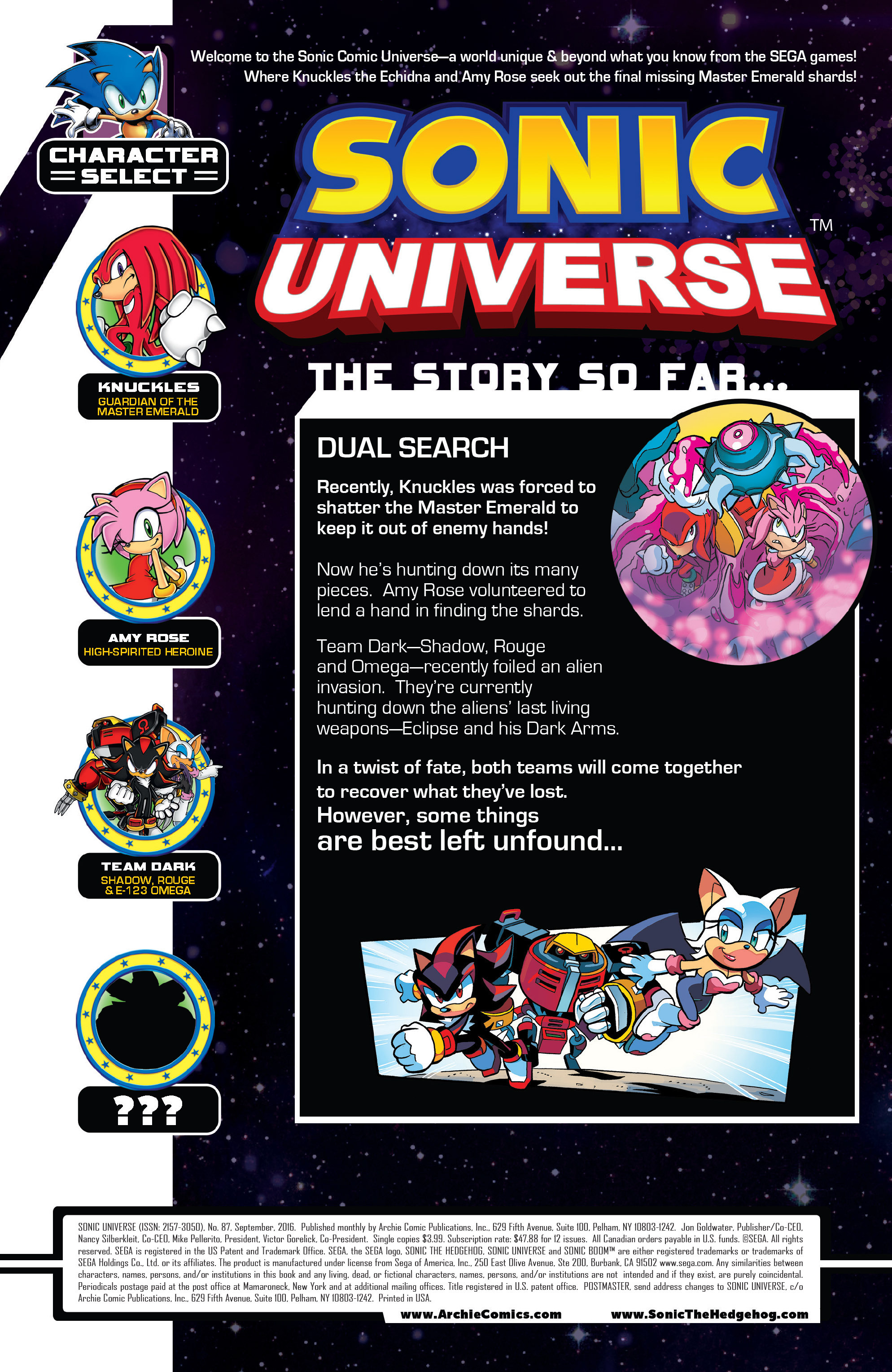 Read online Sonic Universe comic -  Issue #87 - 2