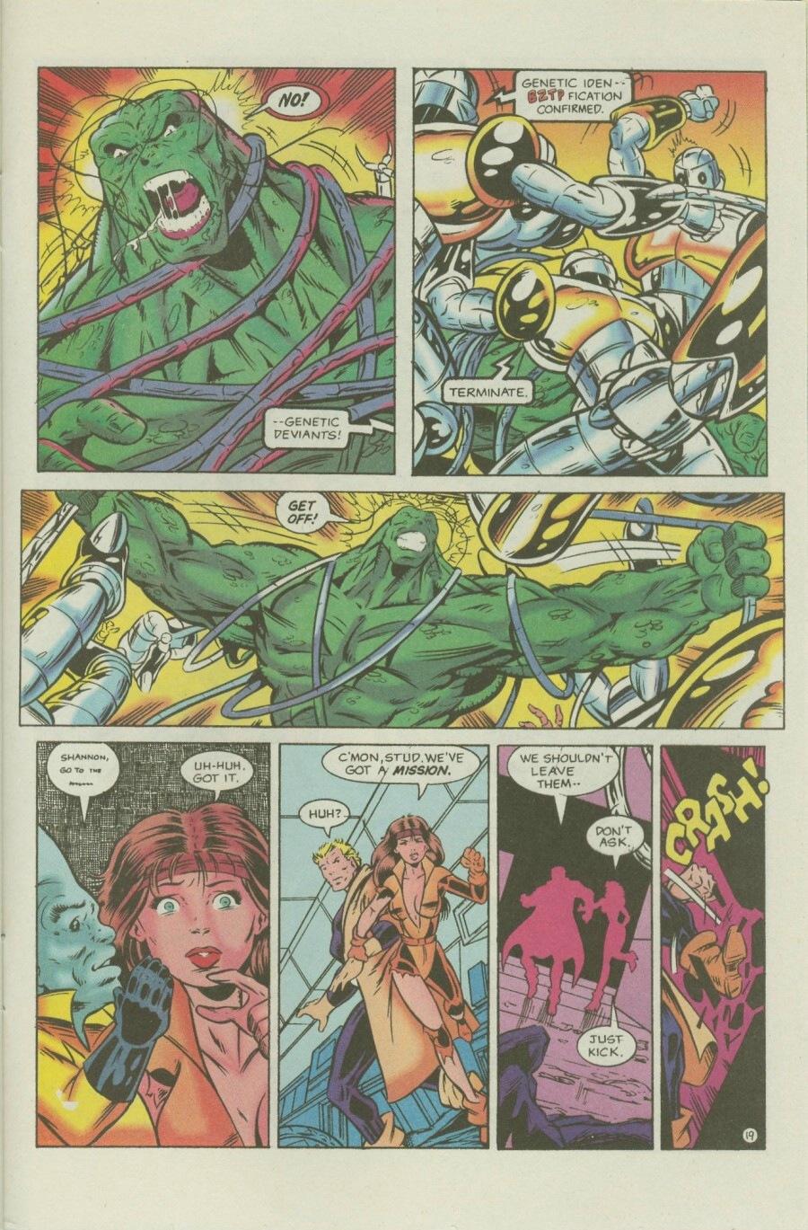 Read online Ex-Mutants comic -  Issue #7 - 24