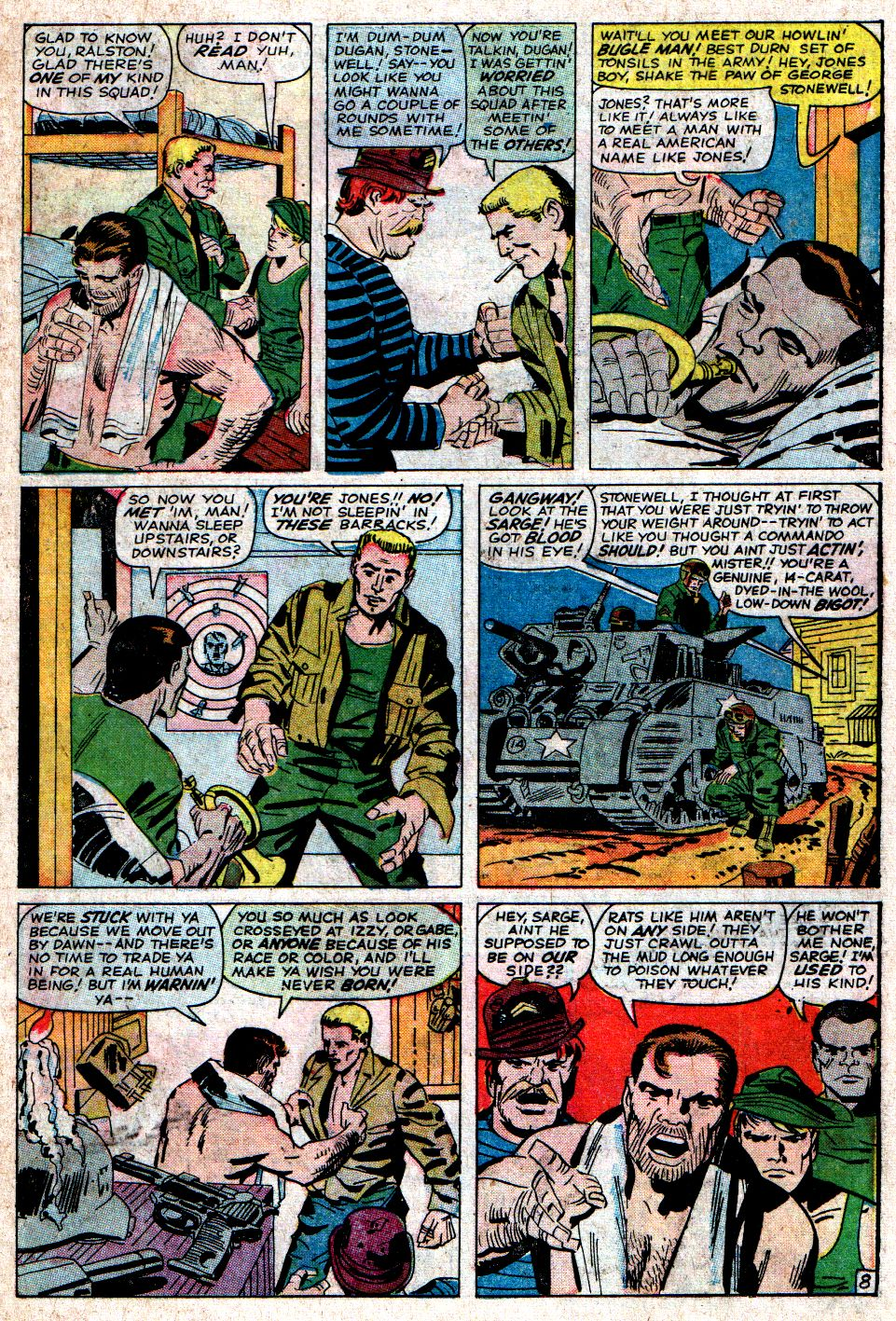 Read online Sgt. Fury comic -  Issue #6 - 11