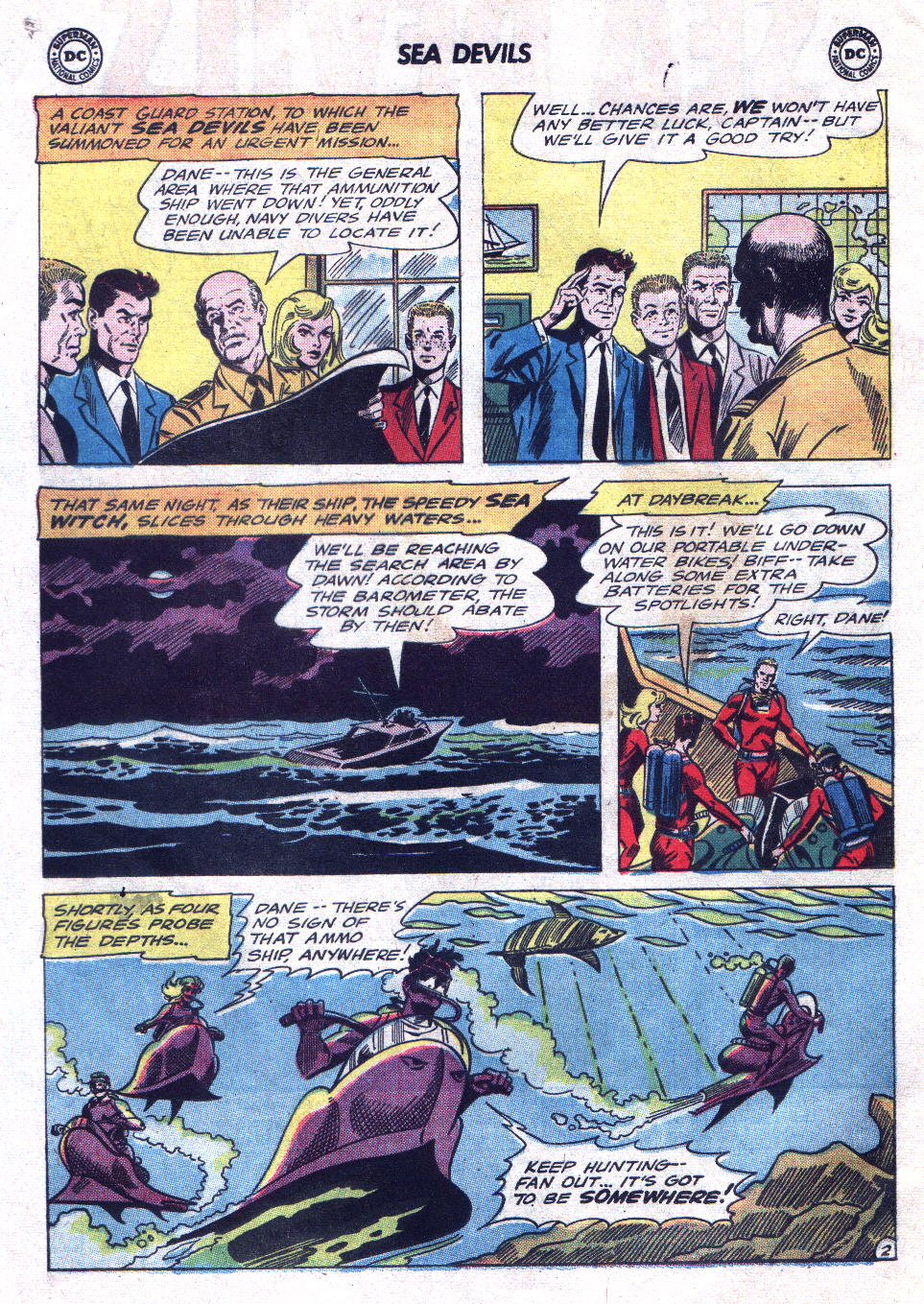Read online Sea Devils comic -  Issue #21 - 4