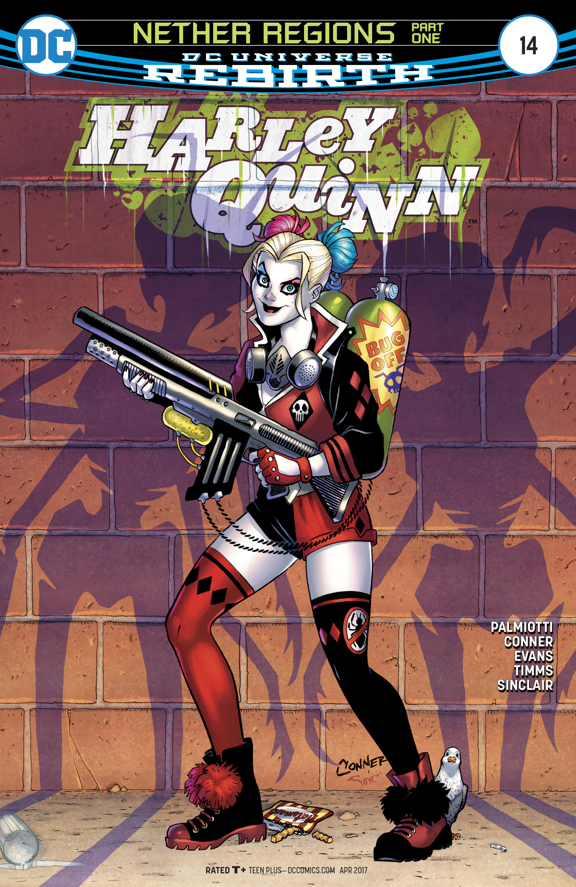 Harley Quinn (2016) 14 Page 1